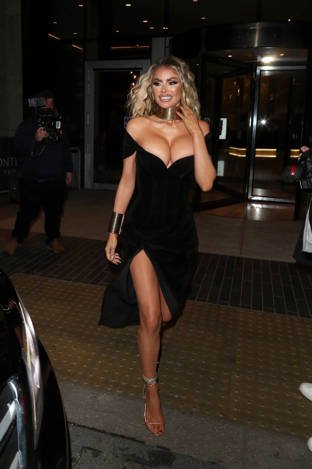 Chloe Sims Shows Off Her Boobs At The Nta Afterparty In London 0001