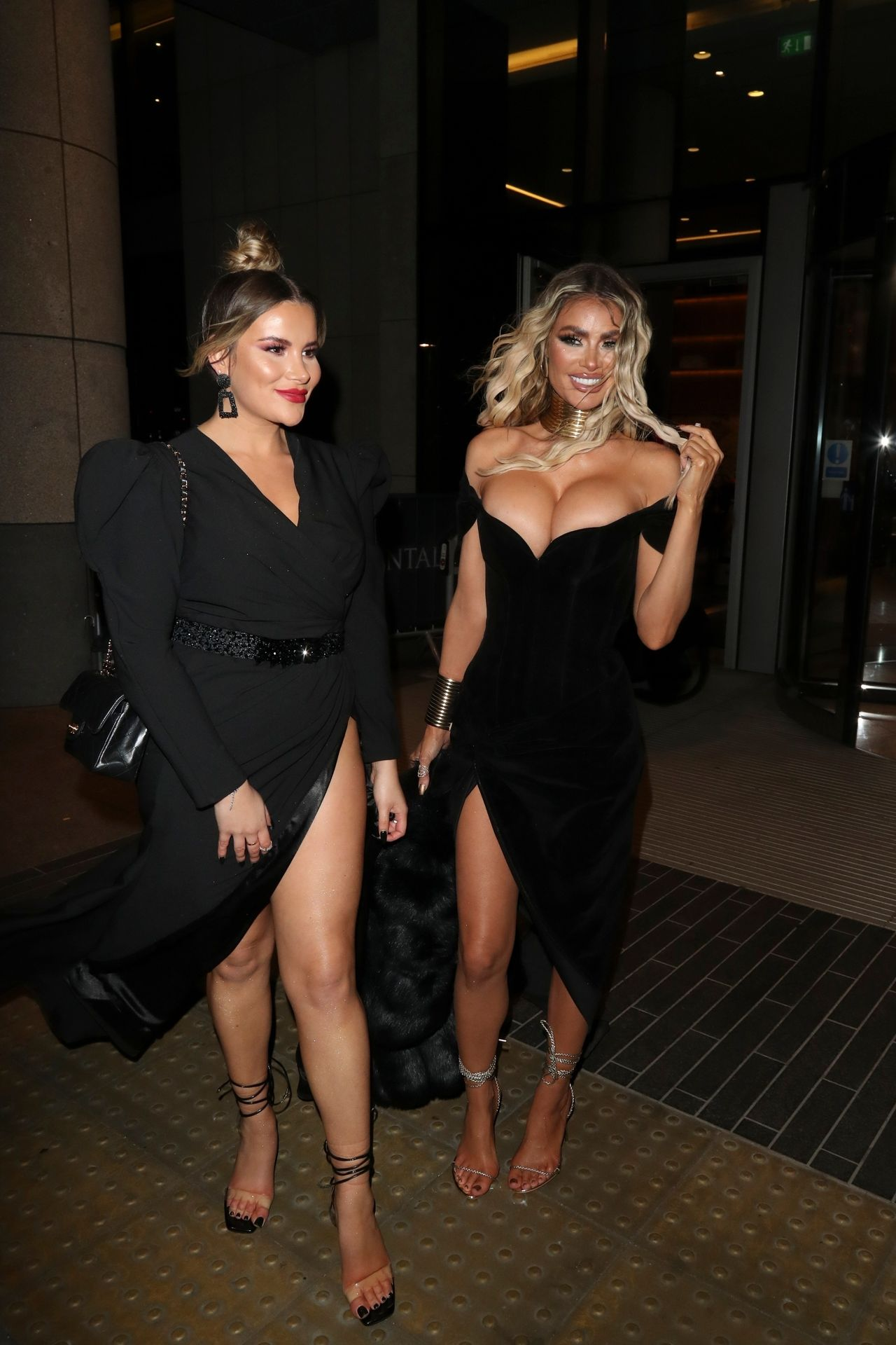 Chloe Sims Shows Off Her Boobs At The Nta Afterparty In London 0008