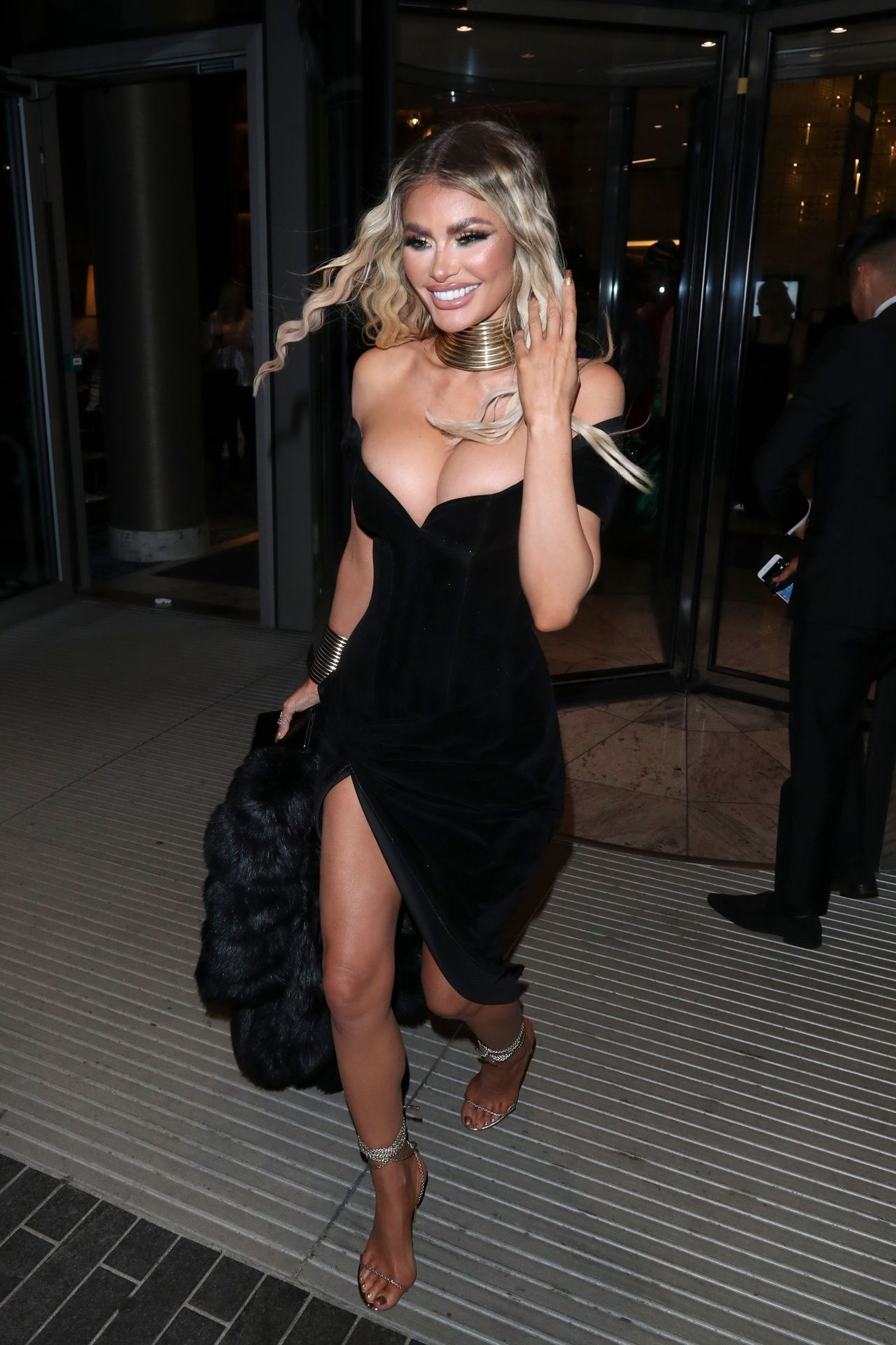 Chloe Sims Shows Off Her Boobs At The Nta Afterparty In London 0010