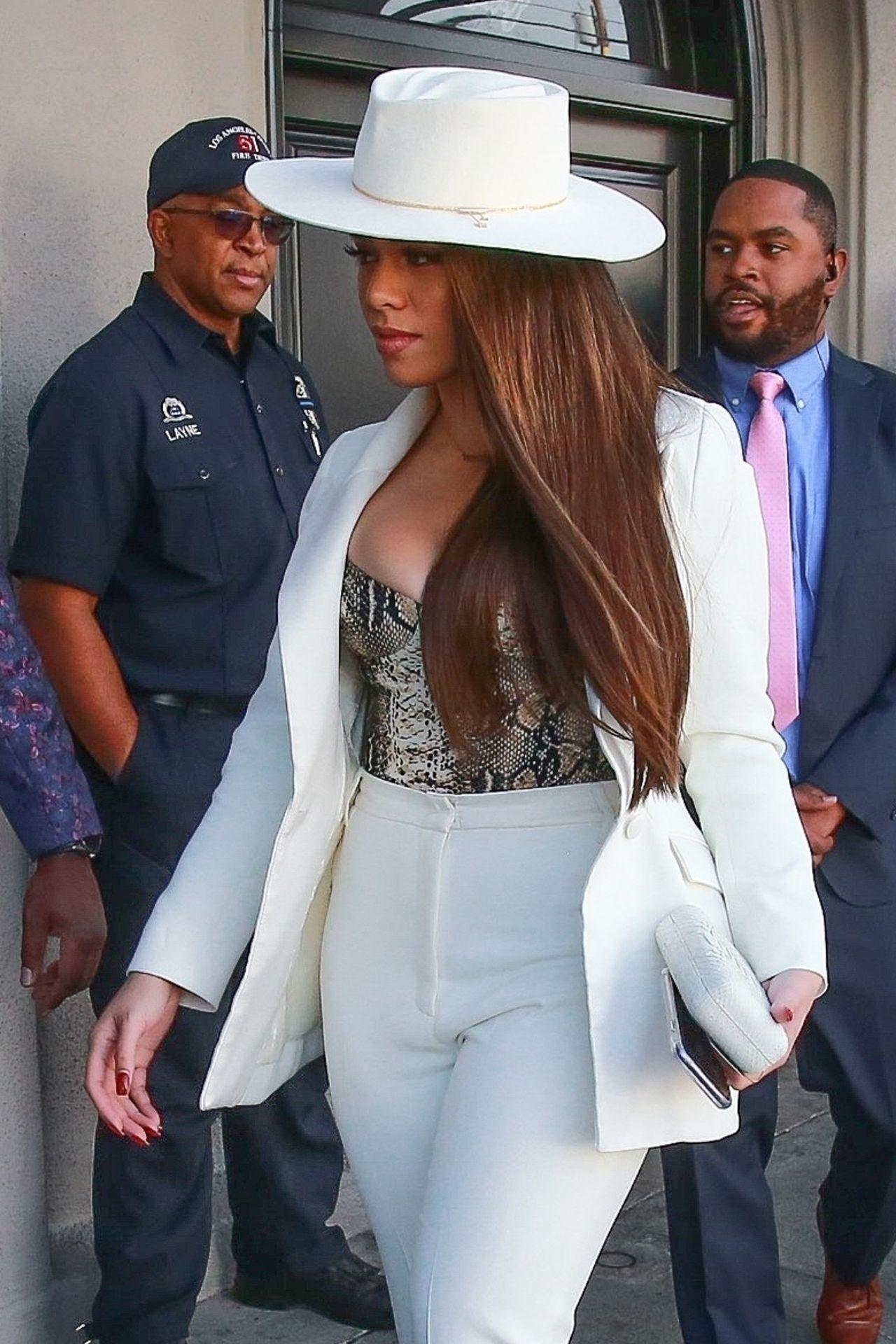Dinah Jane Departs The Women In Harmony Pre Grammy Luncheon 0001