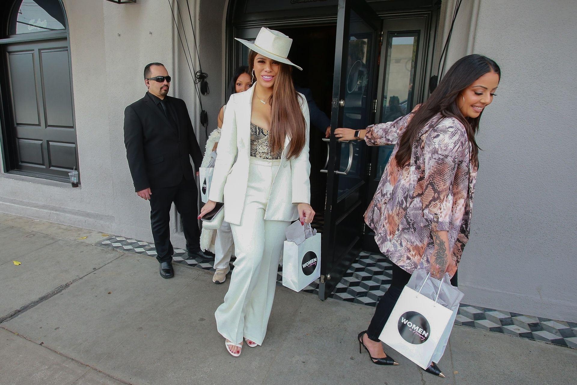 Dinah Jane Departs The Women In Harmony Pre Grammy Luncheon 0007