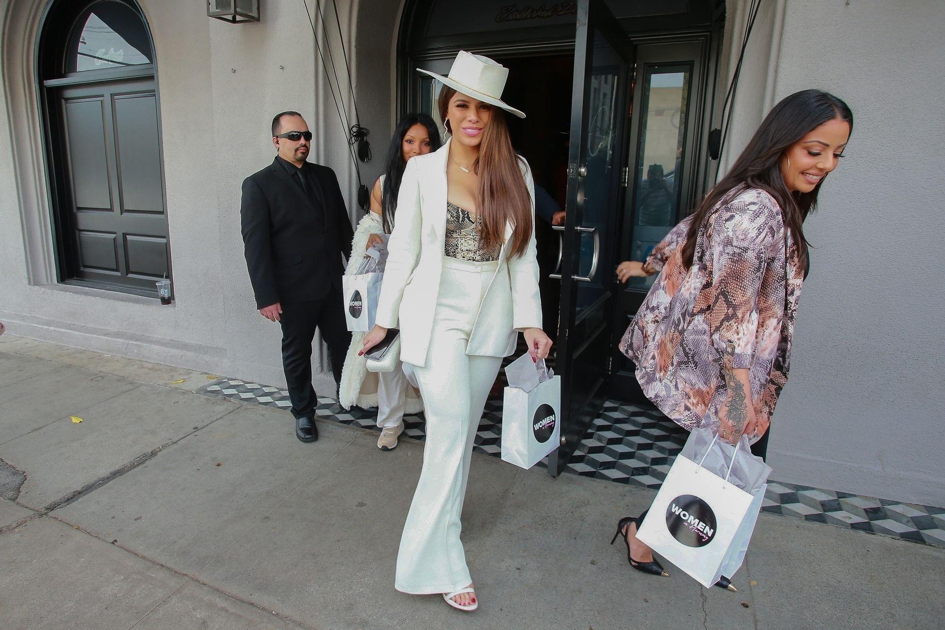 Dinah Jane Departs The Women In Harmony Pre Grammy Luncheon 0009
