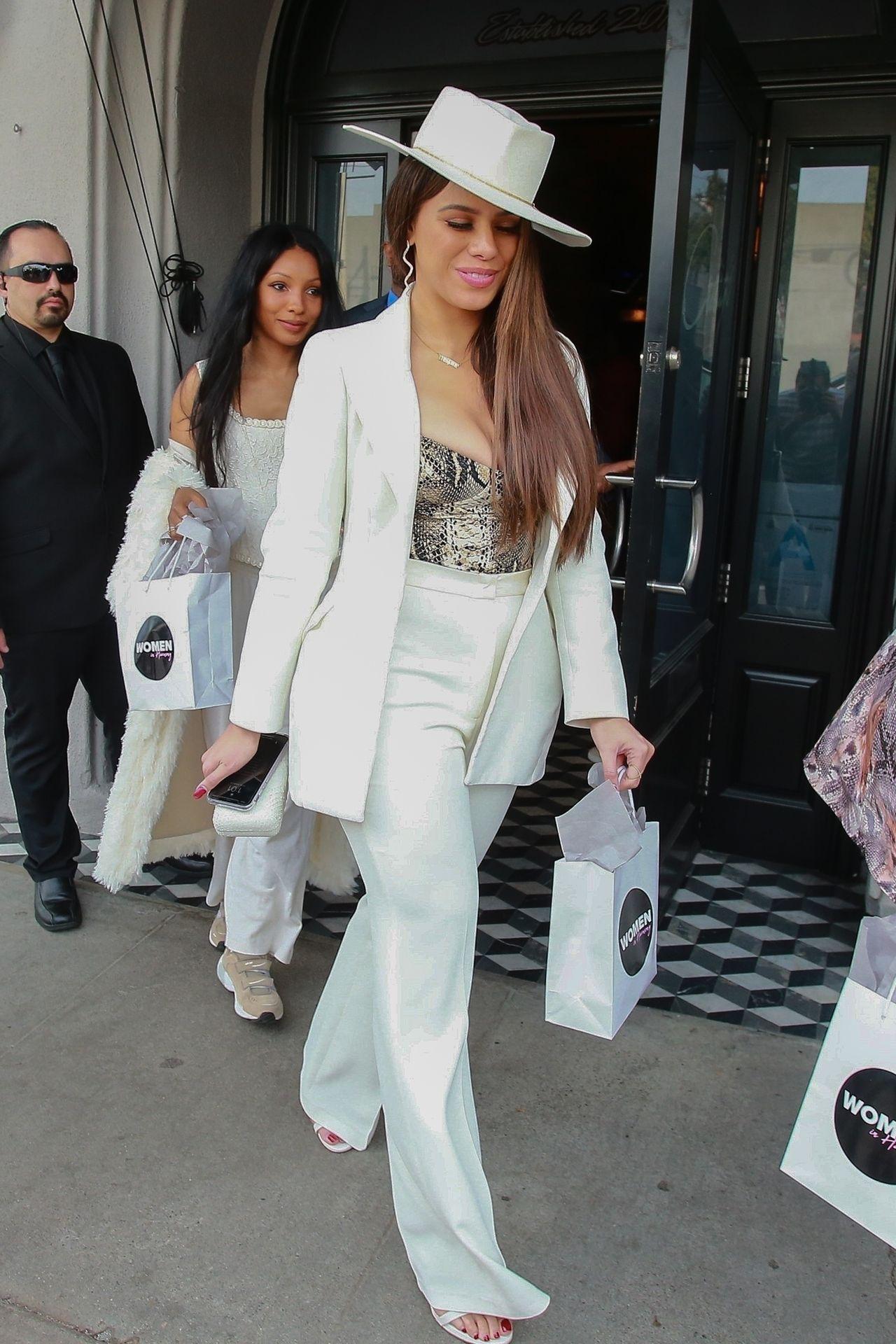 Dinah Jane Departs The Women In Harmony Pre Grammy Luncheon 0010