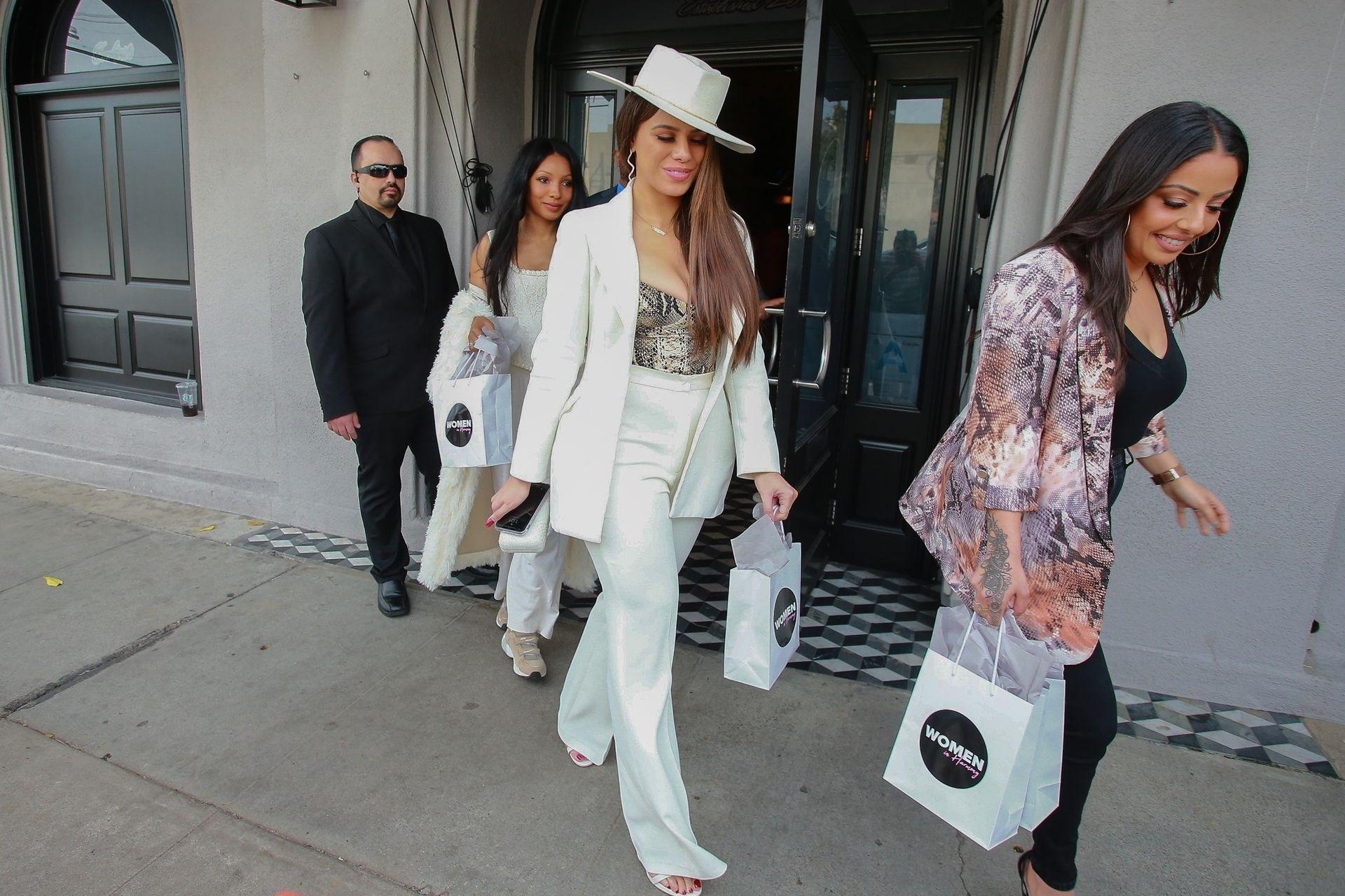 Dinah Jane Departs The Women In Harmony Pre Grammy Luncheon 0011