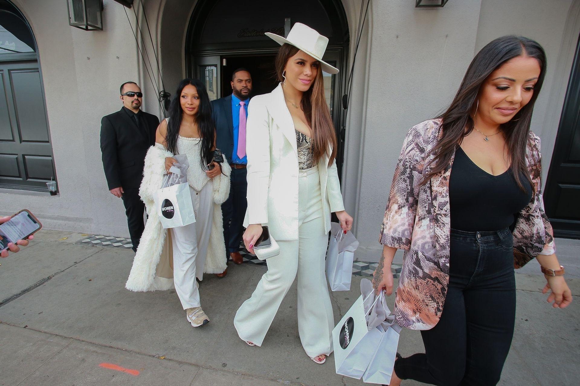 Dinah Jane Departs The Women In Harmony Pre Grammy Luncheon 0013