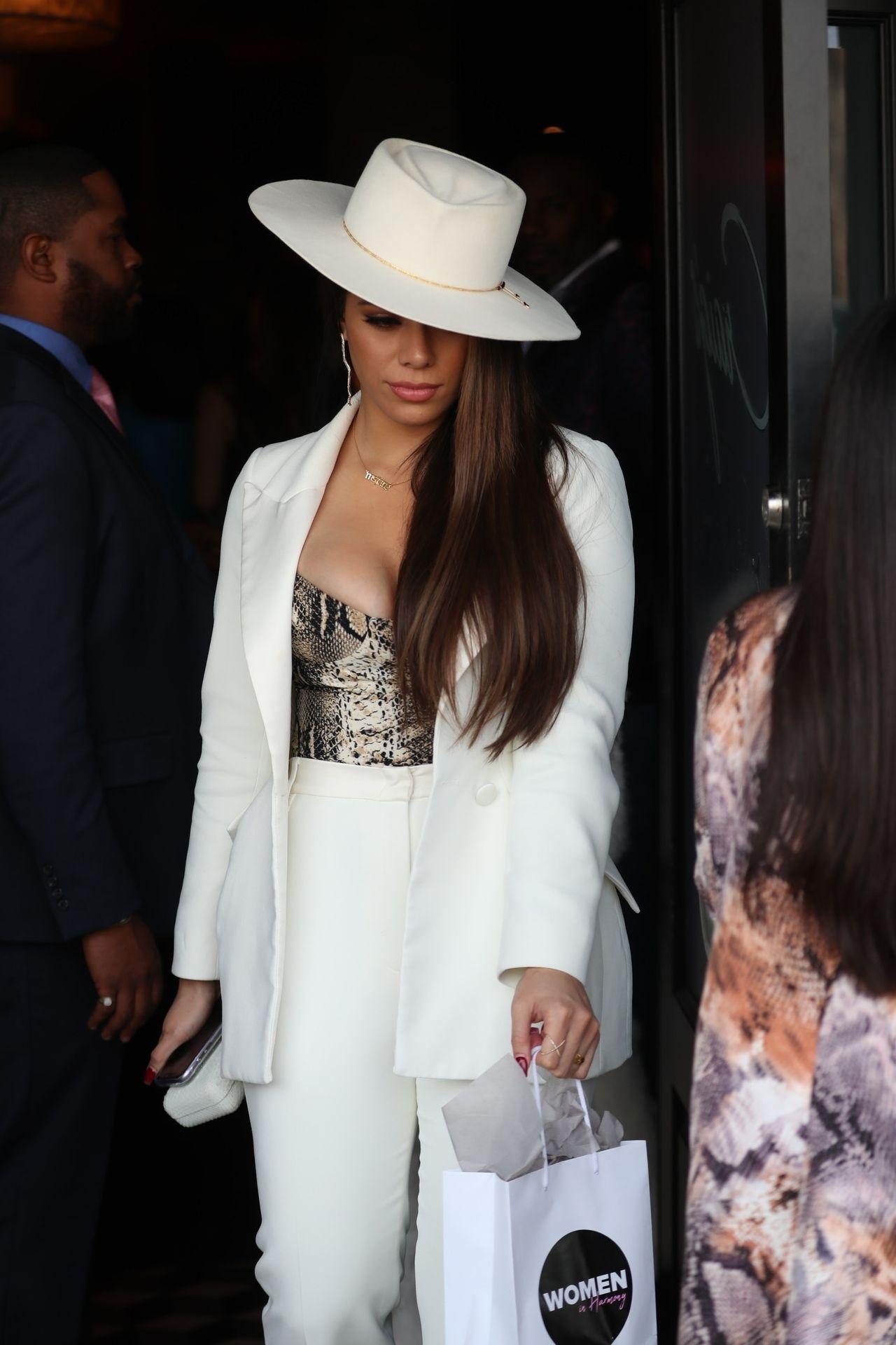 Dinah Jane Departs The Women In Harmony Pre Grammy Luncheon 0018