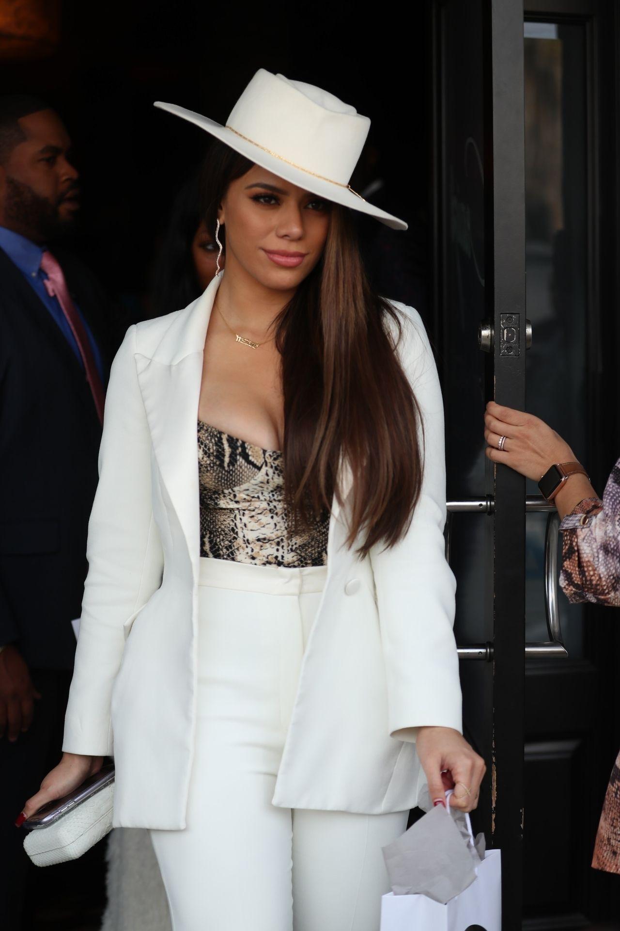 Dinah Jane Departs The Women In Harmony Pre Grammy Luncheon 0025