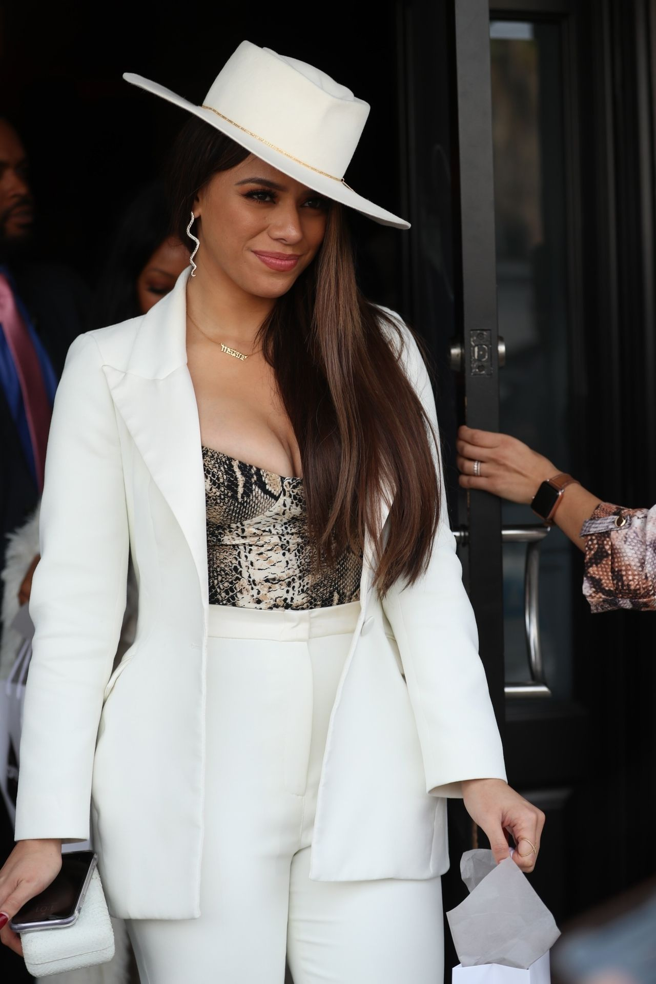 Dinah Jane Departs The Women In Harmony Pre Grammy Luncheon 0027