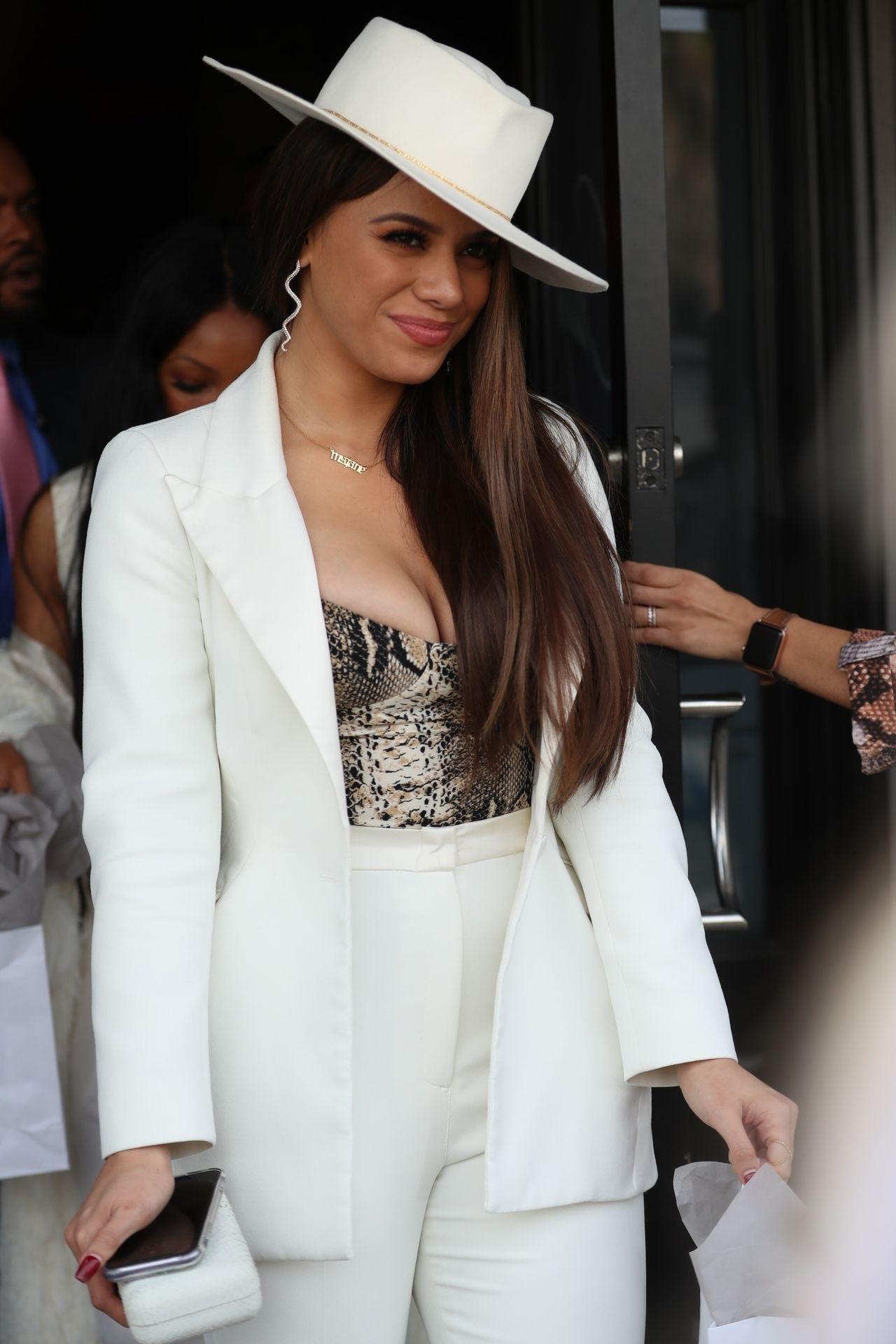 Dinah Jane Departs The Women In Harmony Pre Grammy Luncheon 0029