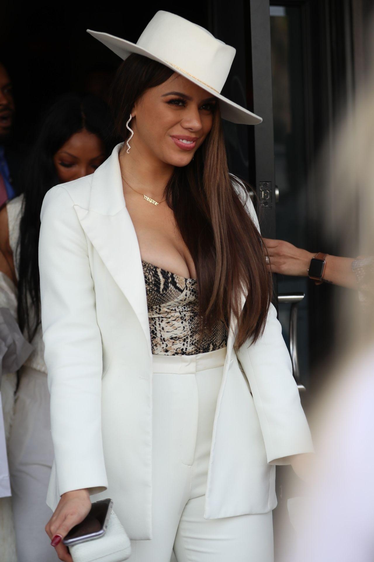 Dinah Jane Departs The Women In Harmony Pre Grammy Luncheon 0030