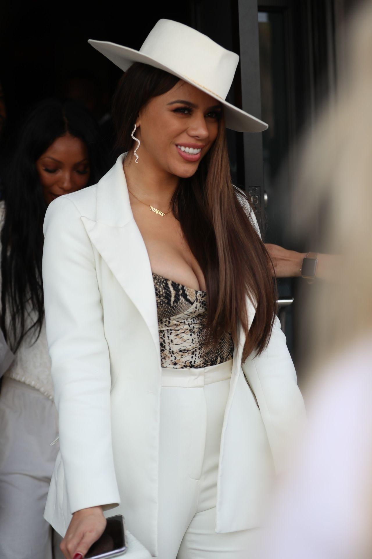 Dinah Jane Departs The Women In Harmony Pre Grammy Luncheon 0031