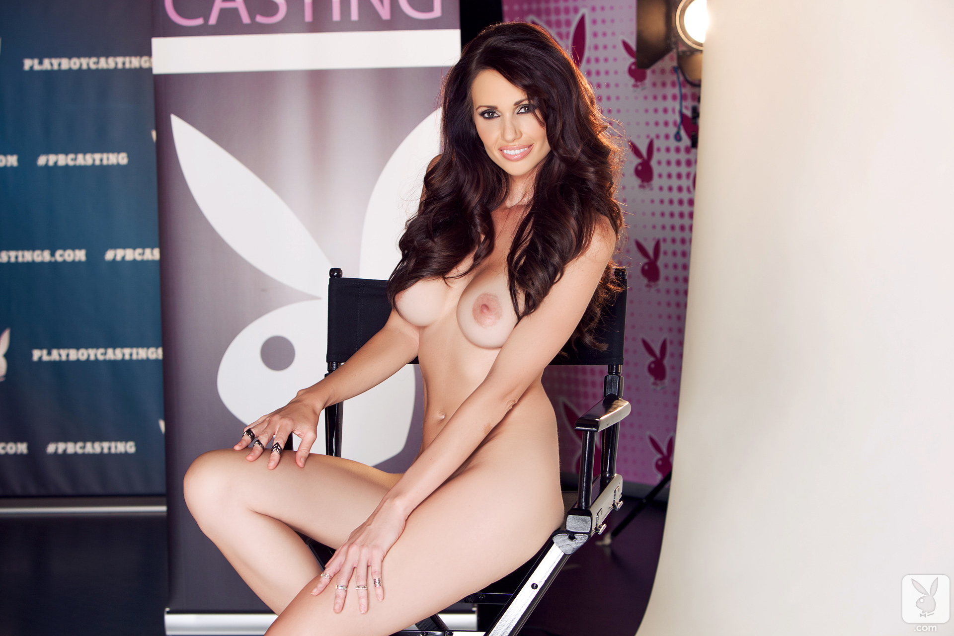 Holli Pockets In Casting Chair Playboy Plus (26)