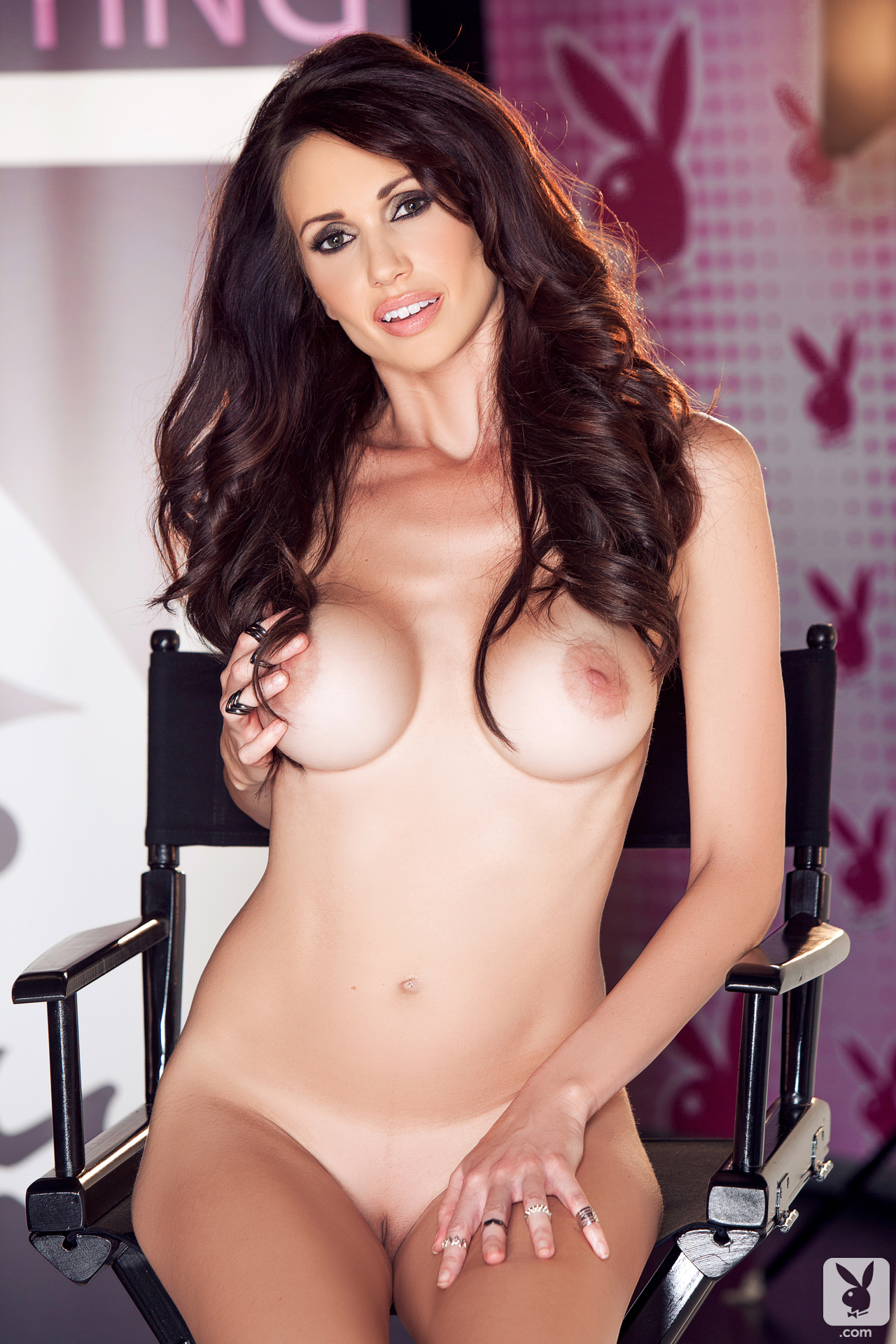 Holli Pockets In Casting Chair Playboy Plus (28)