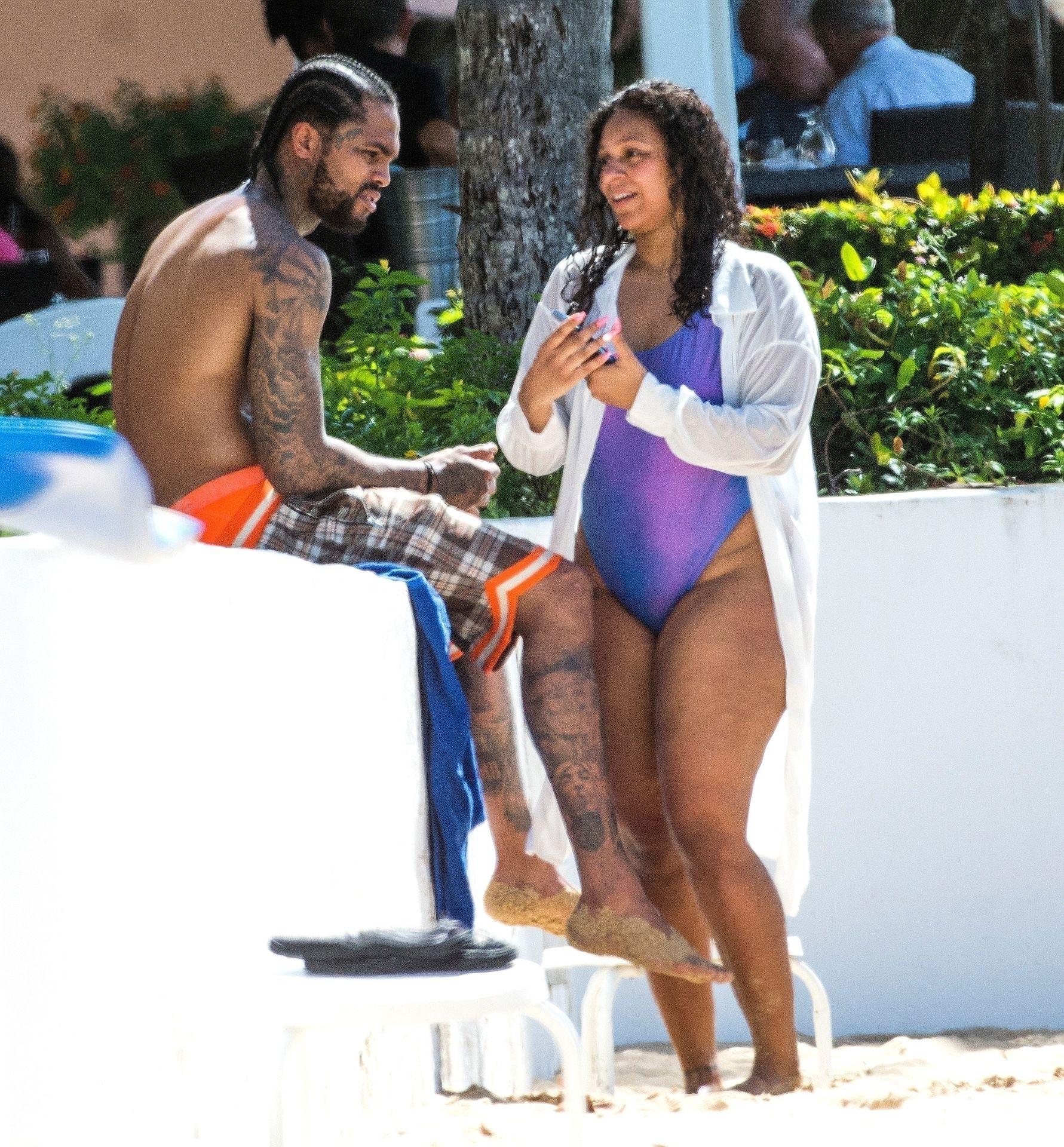 Is Dave East Back Together With Millie Colon 0028
