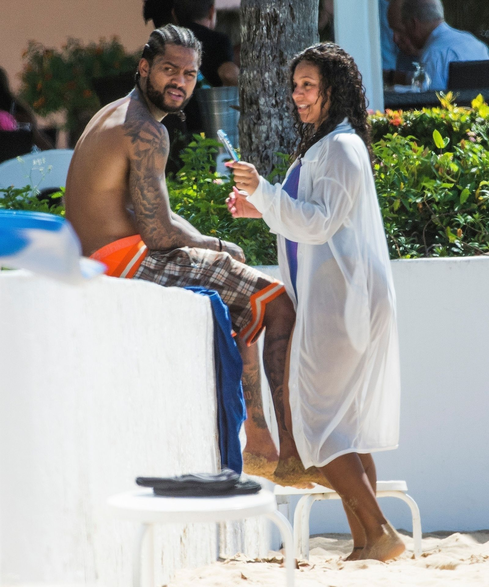 Is Dave East Back Together With Millie Colon 0030