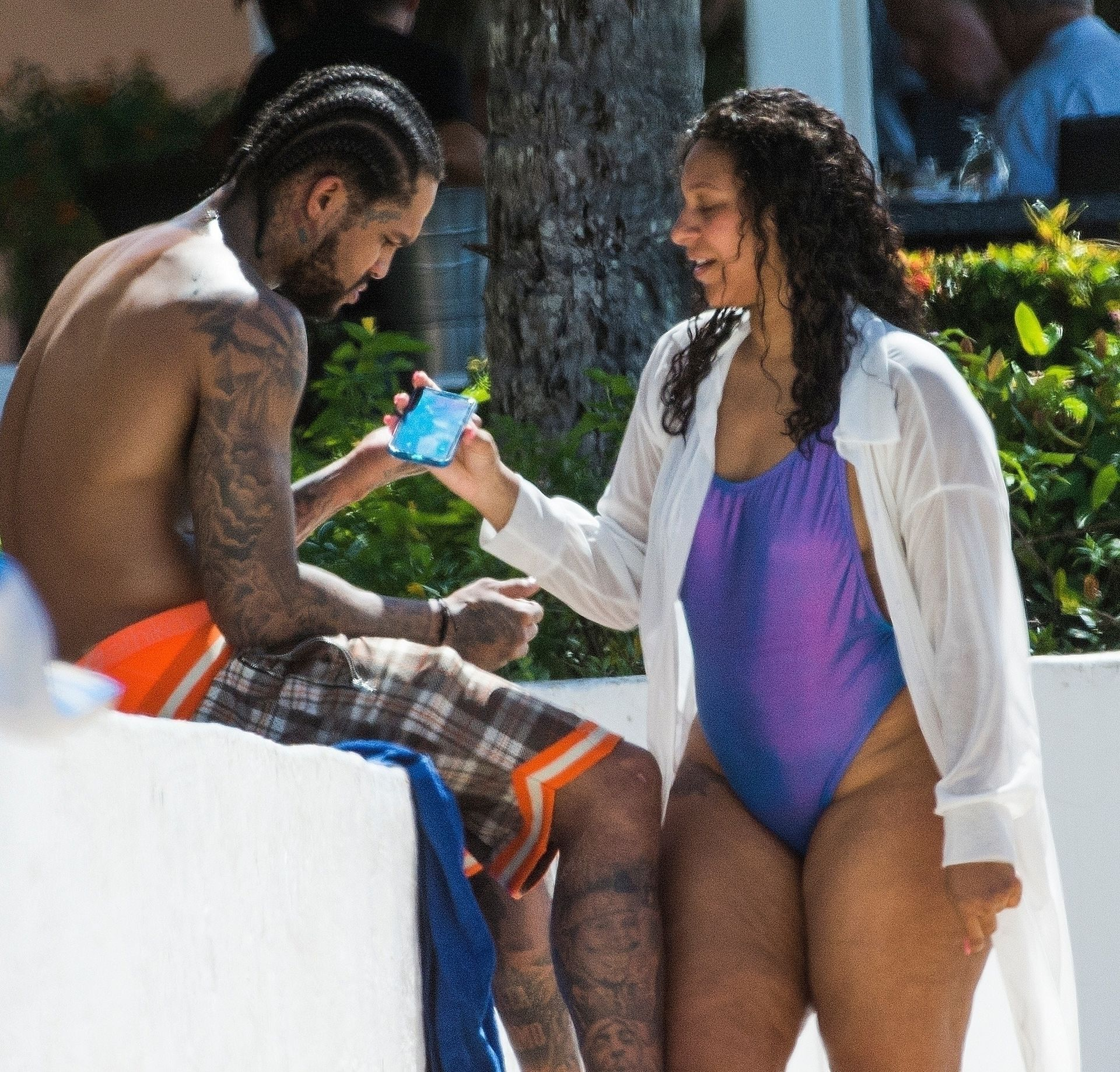 Is Dave East Back Together With Millie Colon 0034