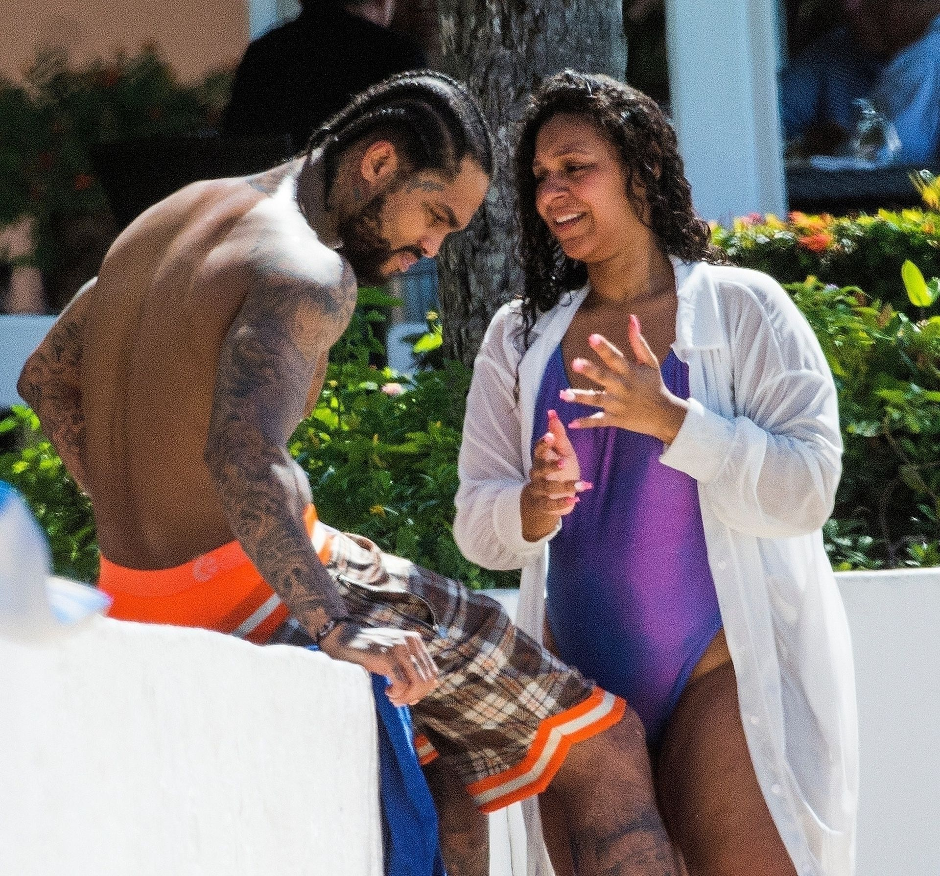 Is Dave East Back Together With Millie Colon 0044