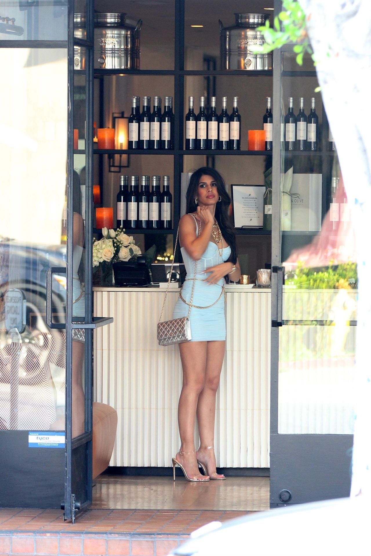 Jasmin Walia Got The Baby Blues For Lunch At Fig & Olive 0008