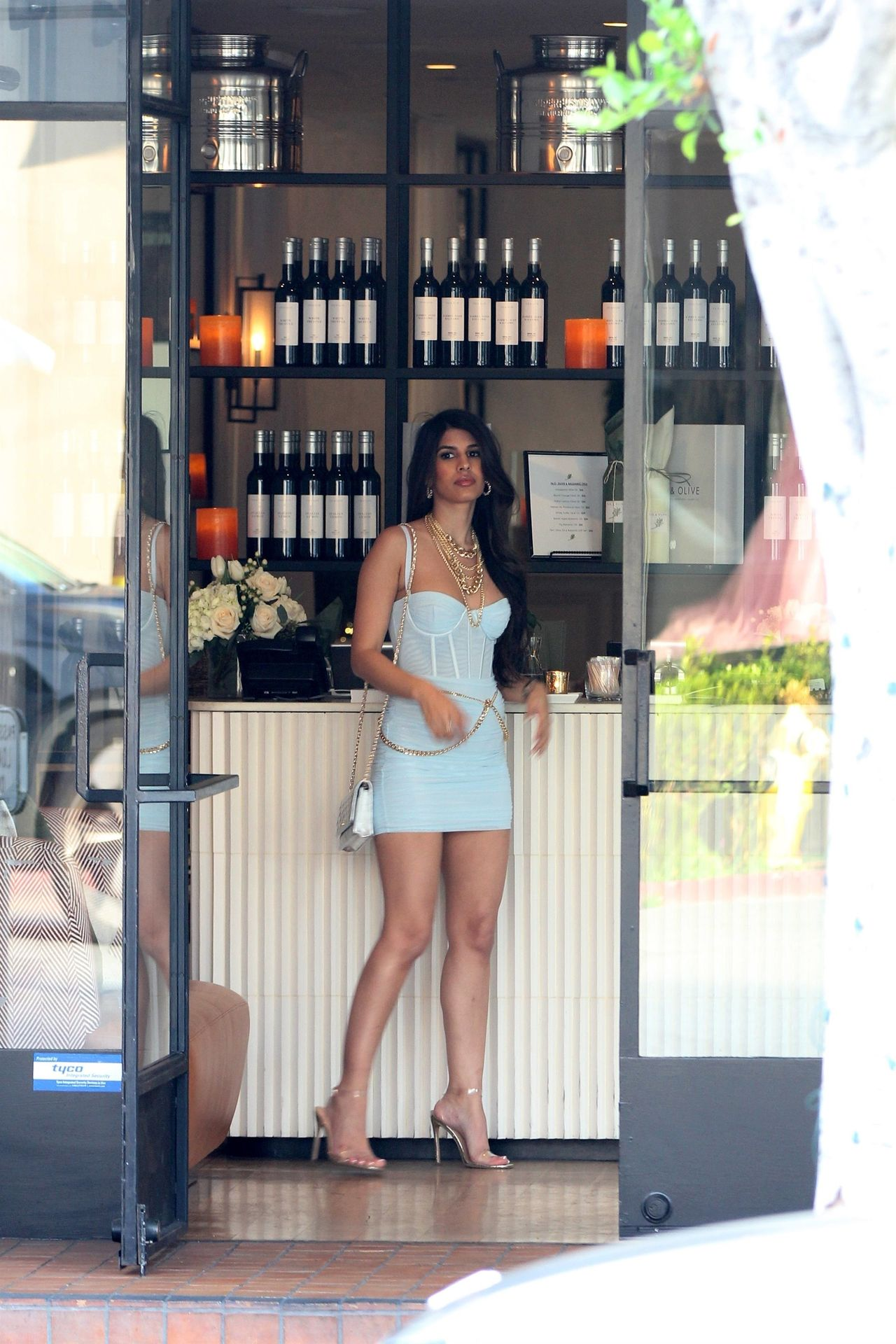 Jasmin Walia Got The Baby Blues For Lunch At Fig & Olive 0009