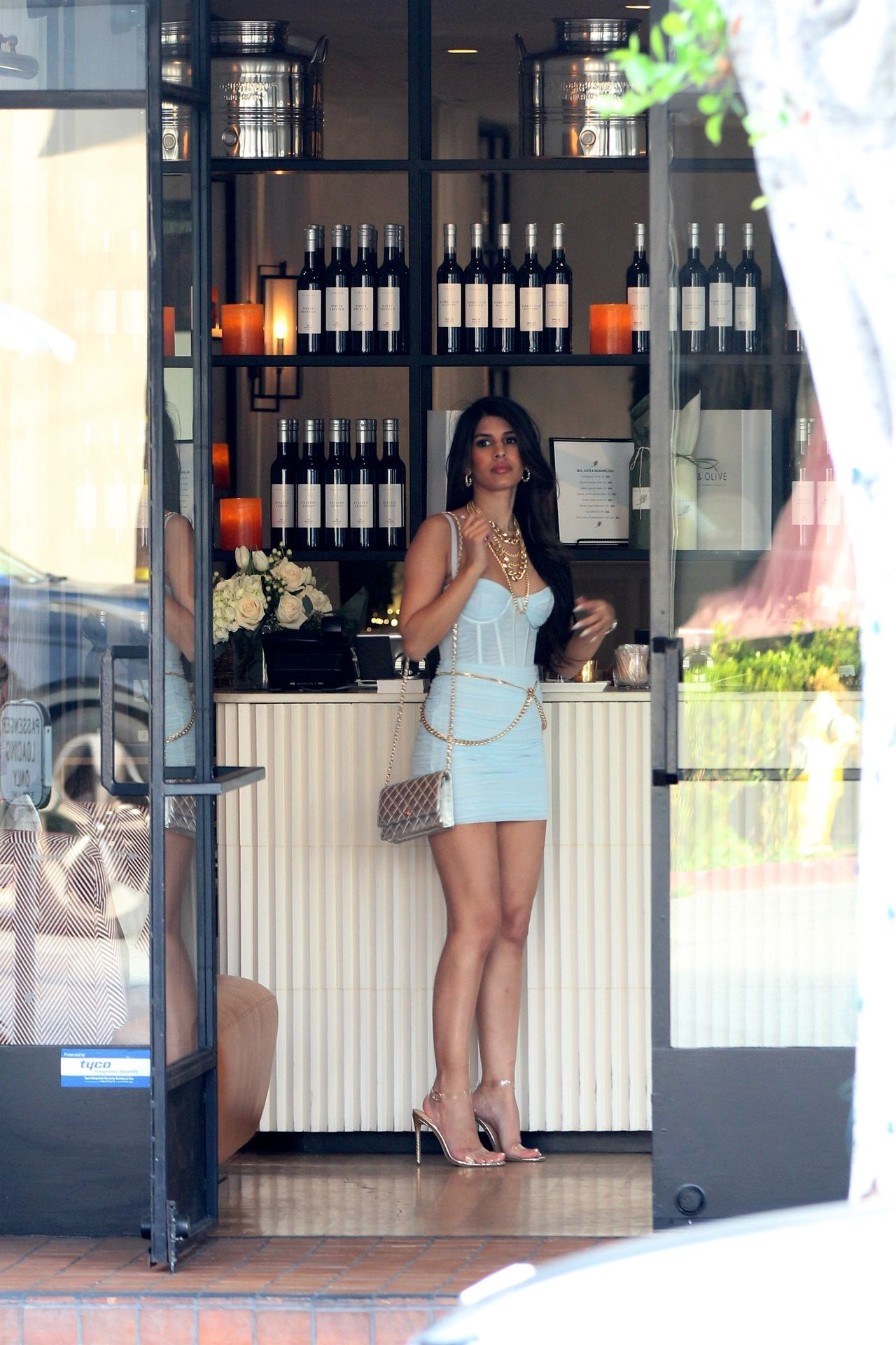 Jasmin Walia Got The Baby Blues For Lunch At Fig & Olive 0015