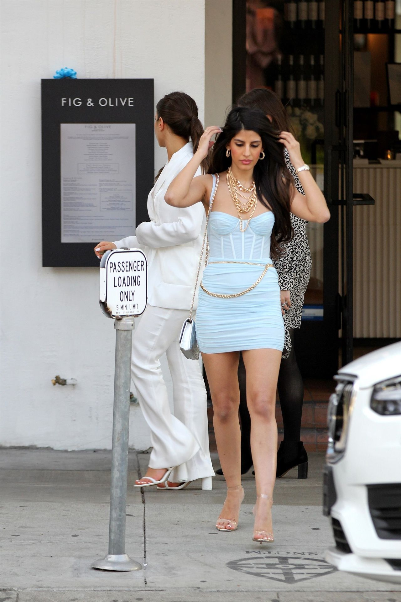 Jasmin Walia Got The Baby Blues For Lunch At Fig & Olive 0019