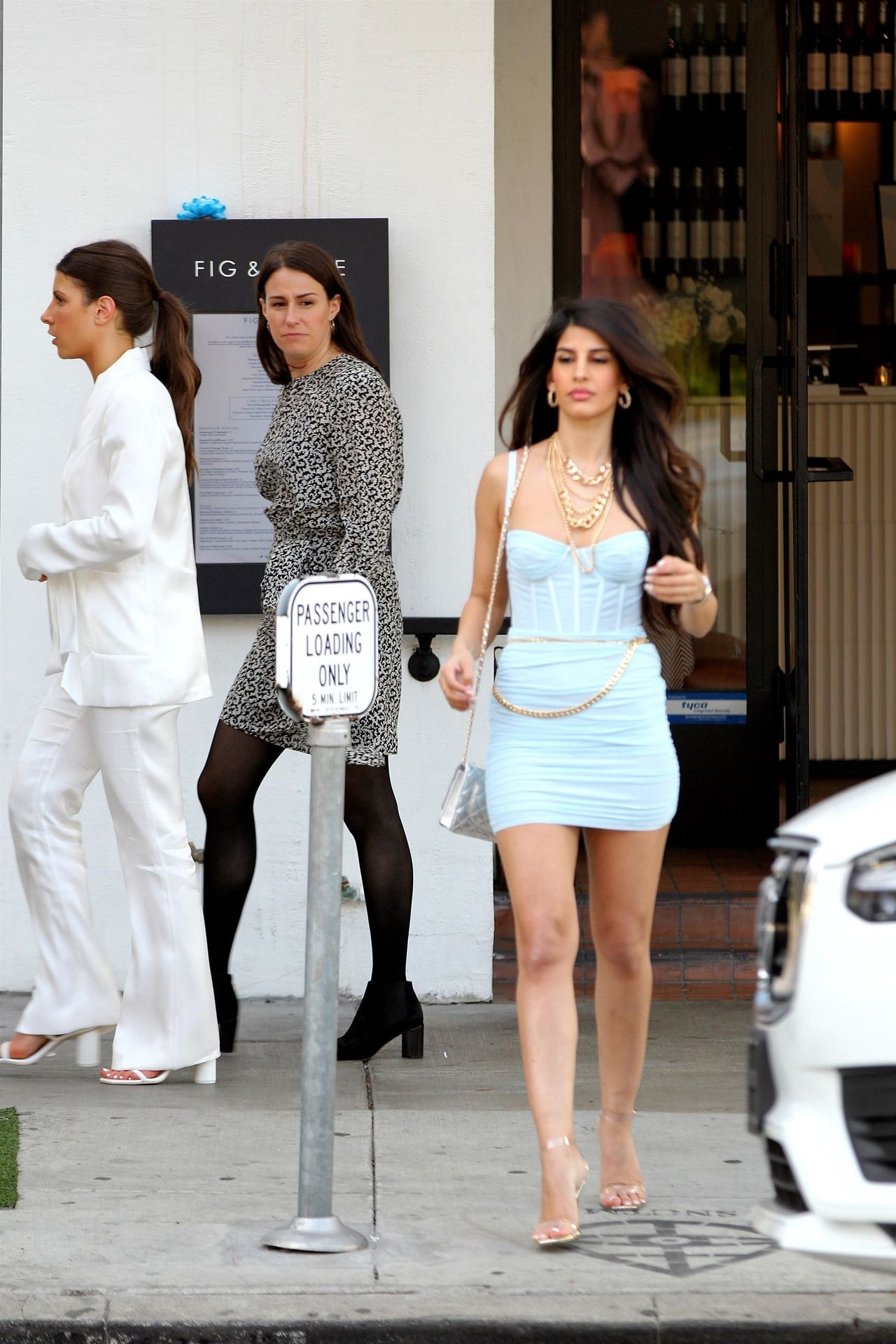 Jasmin Walia Got The Baby Blues For Lunch At Fig & Olive 0030