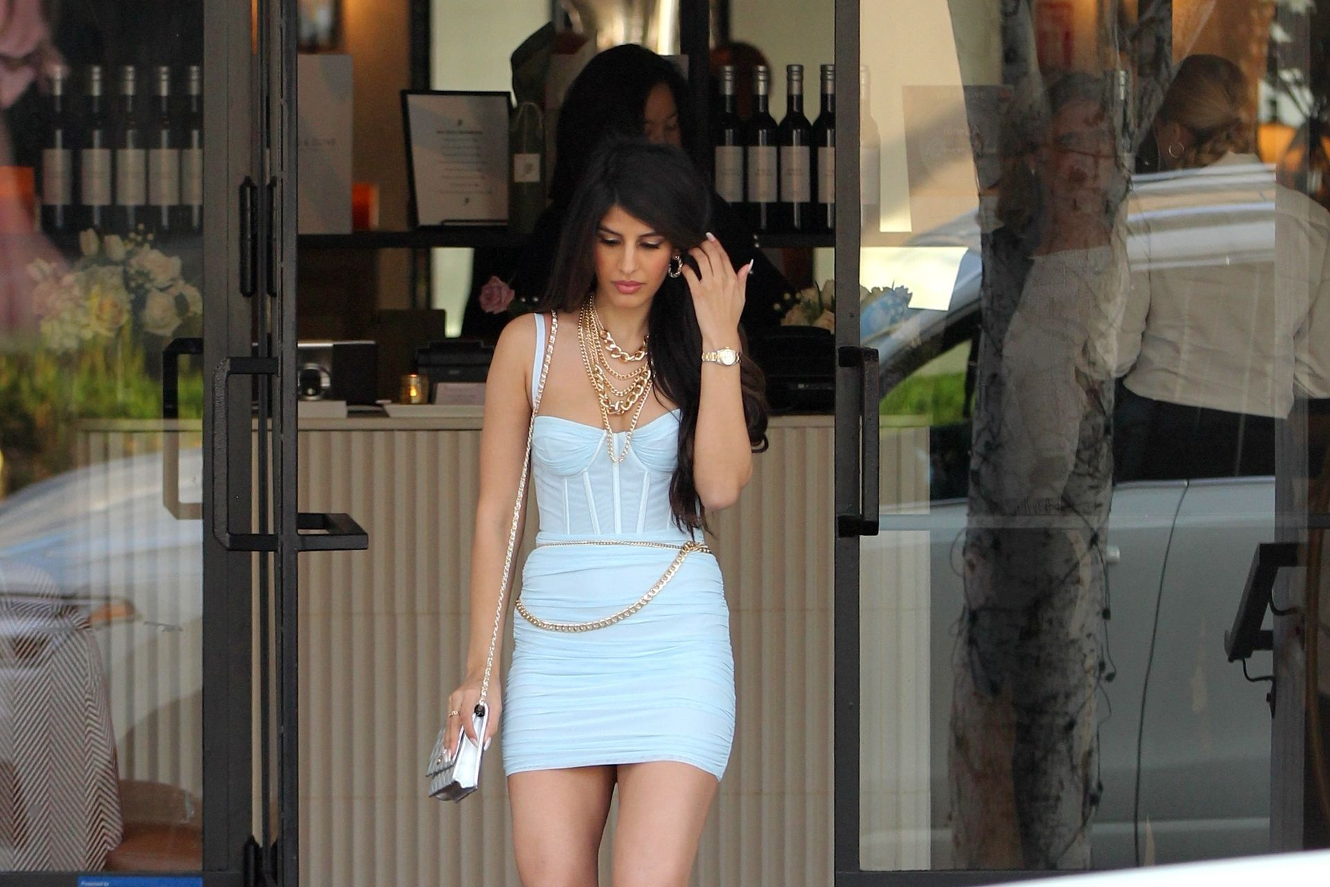Jasmin Walia Got The Baby Blues For Lunch At Fig & Olive 0034