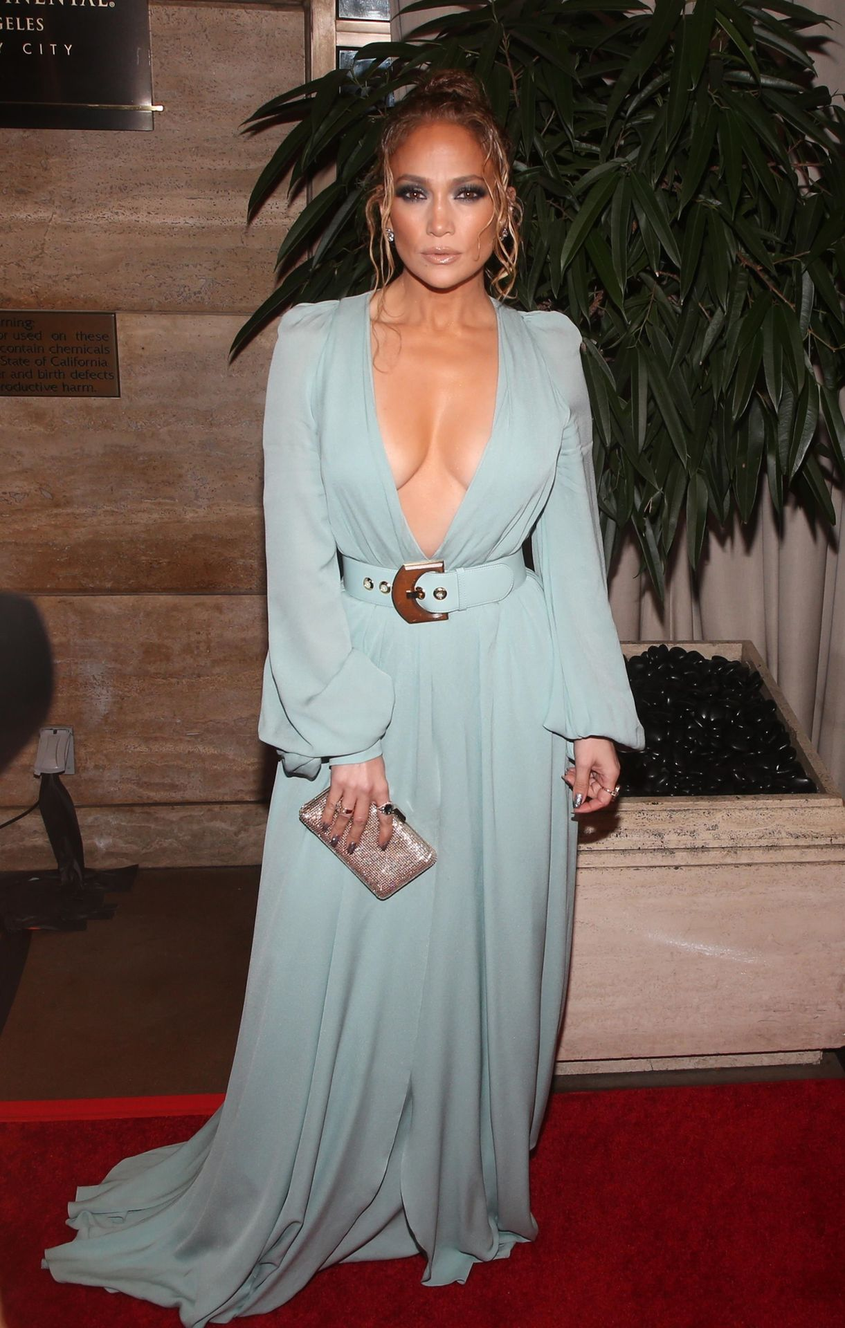 Jennifer Lopez Braless 0028