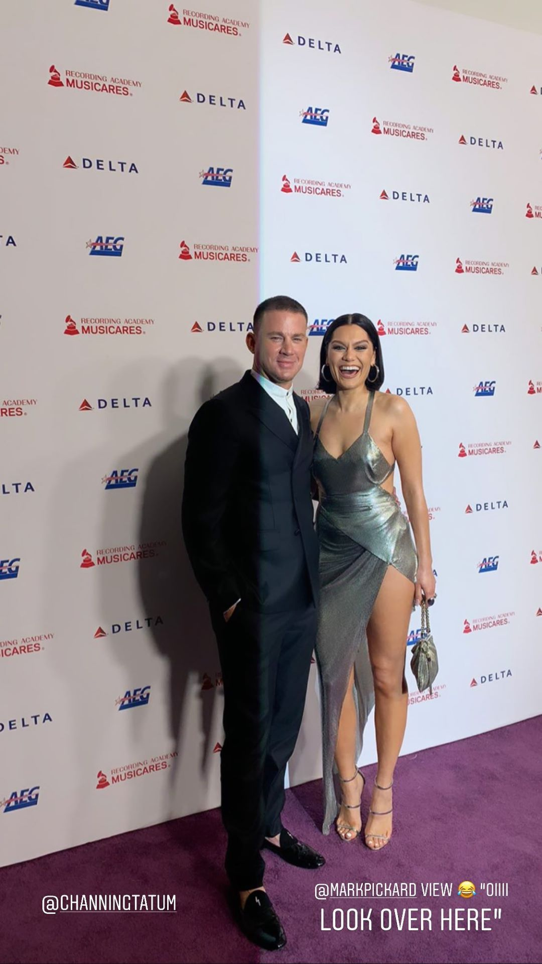 Jessie J Shows Off Her Sexy Legs At The Musicares Person Of The Year Gala 0040