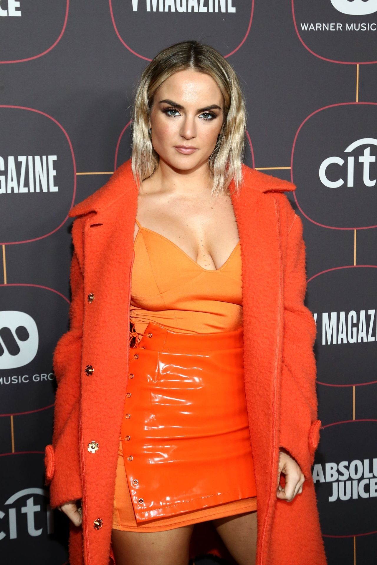 Jojo Shows Off Her Tits At The Warner Music Group Pre Grammy Party In Hollywood 0003