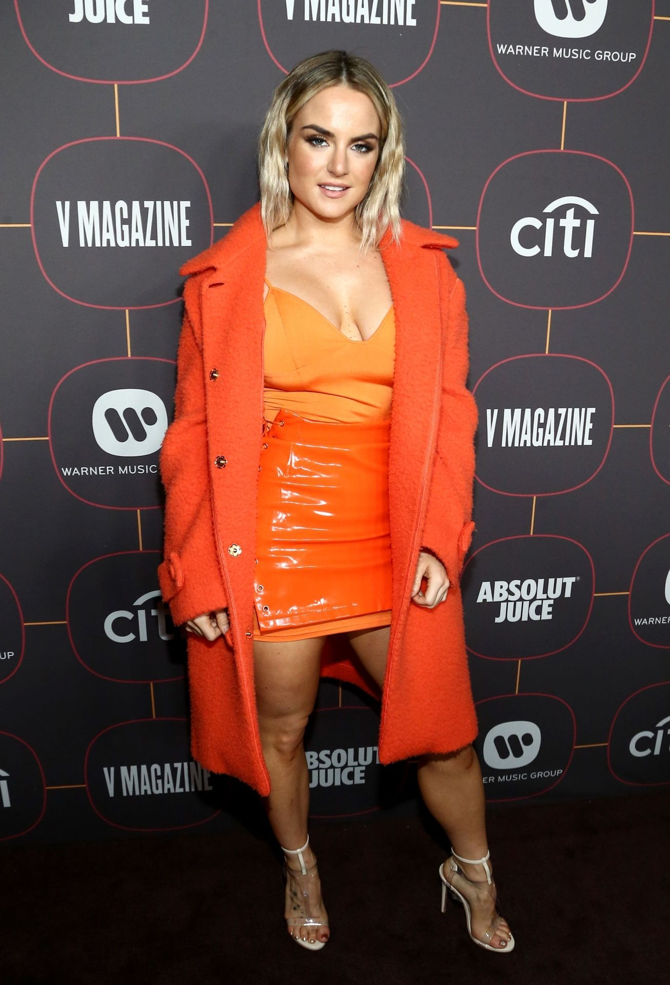 Jojo Shows Off Her Tits At The Warner Music Group Pre Grammy Party In Hollywood 0004