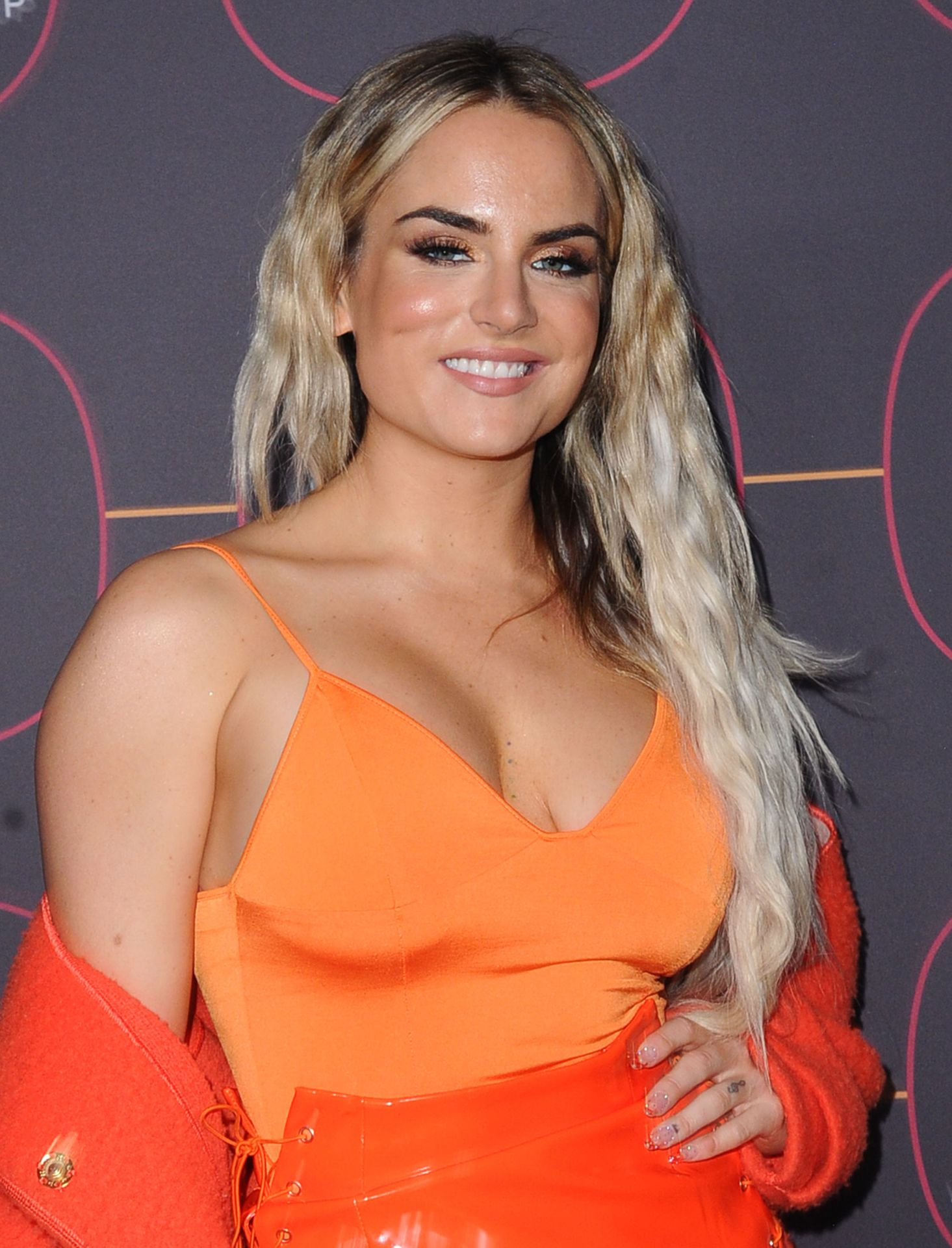 Jojo Shows Off Her Tits At The Warner Music Group Pre Grammy Party In Hollywood 0016