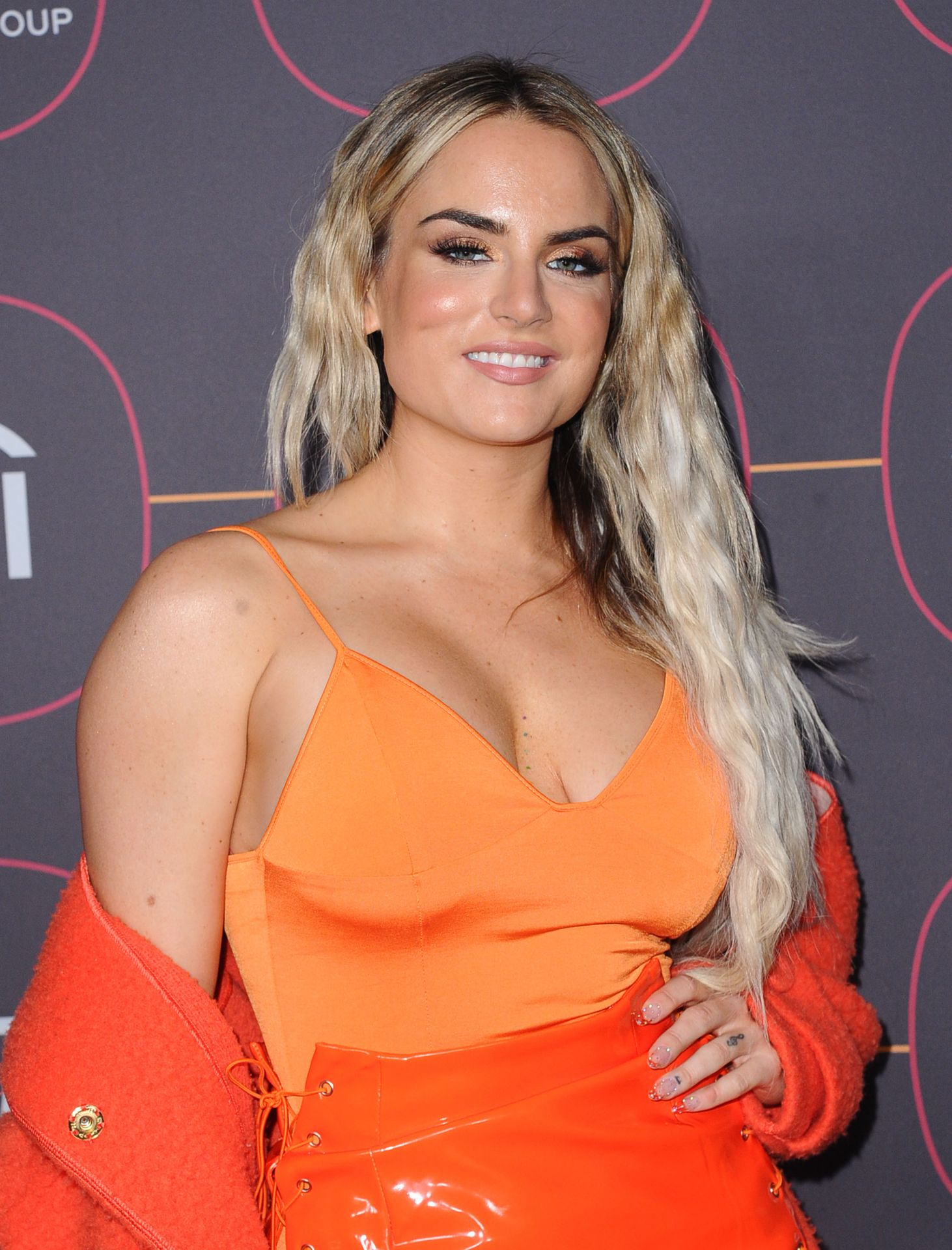 Jojo Shows Off Her Tits At The Warner Music Group Pre Grammy Party In Hollywood 0017