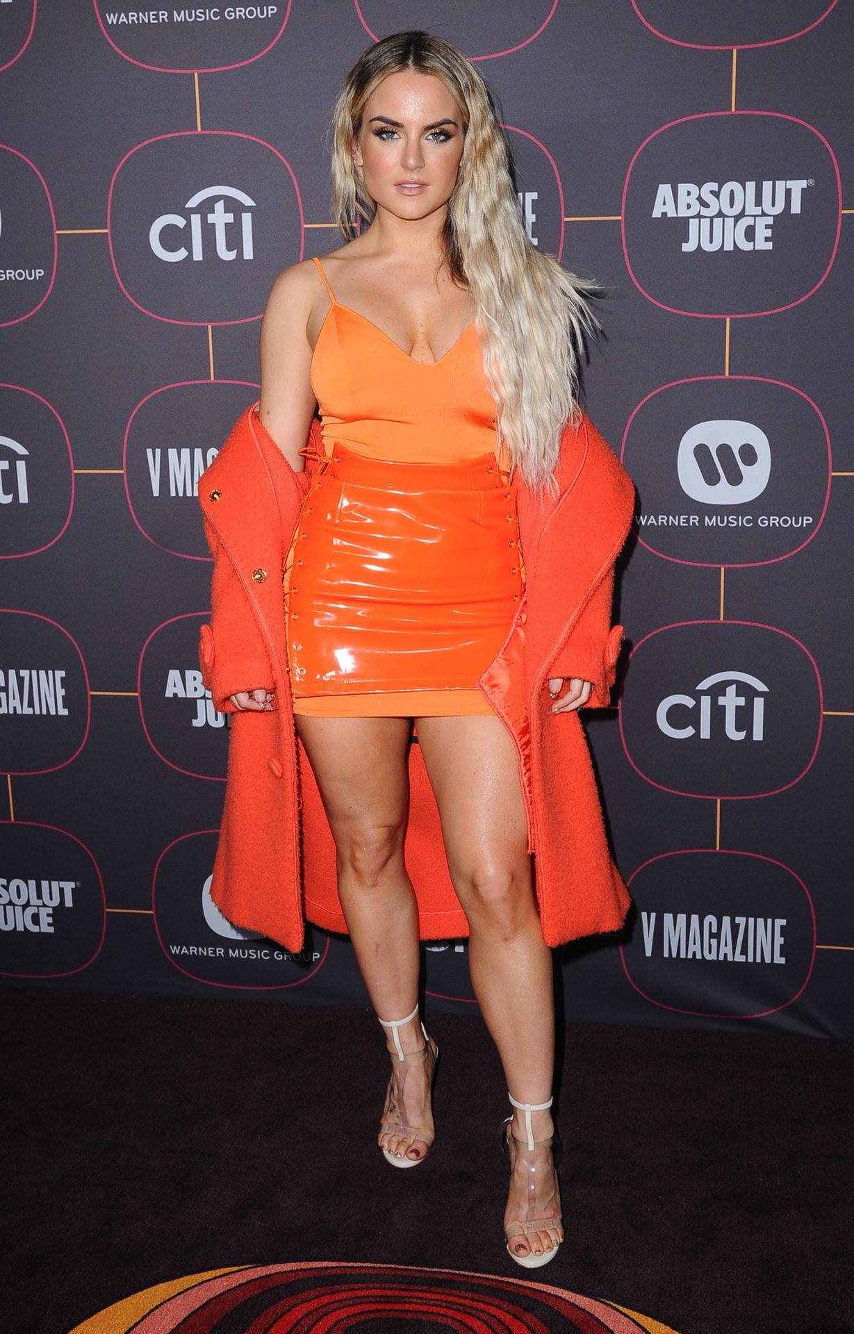 Jojo Shows Off Her Tits At The Warner Music Group Pre Grammy Party In Hollywood 0022