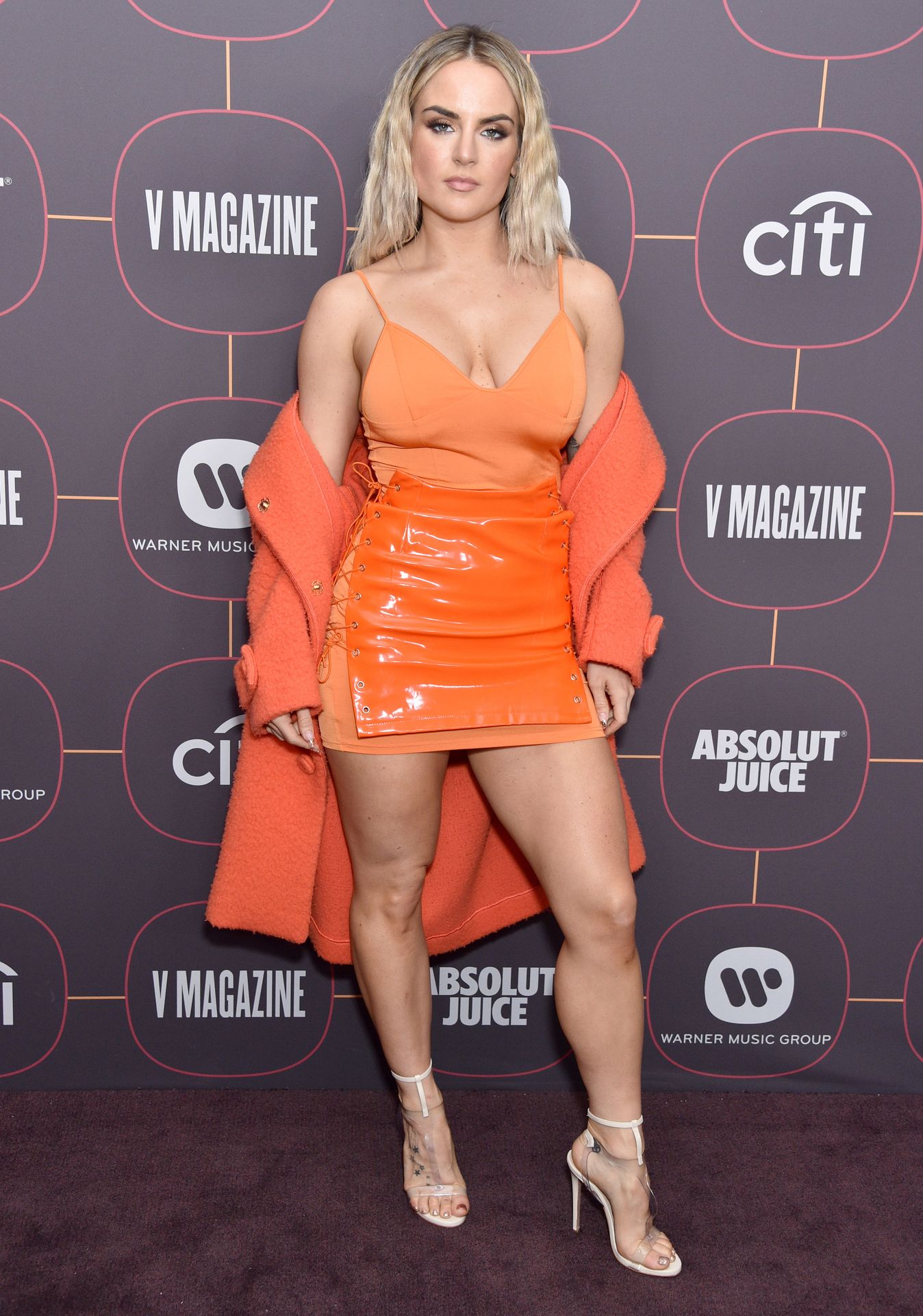 Jojo Shows Off Her Tits At The Warner Music Group Pre Grammy Party In Hollywood 0026