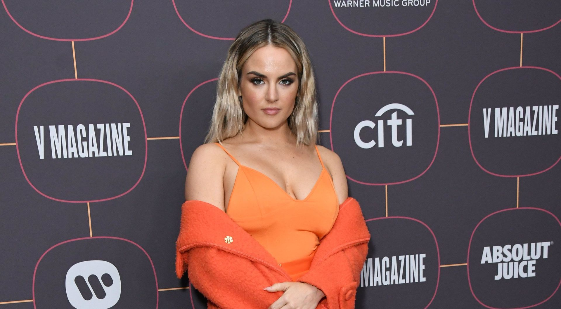 Jojo Shows Off Her Tits At The Warner Music Group Pre Grammy Party In Hollywood 0028