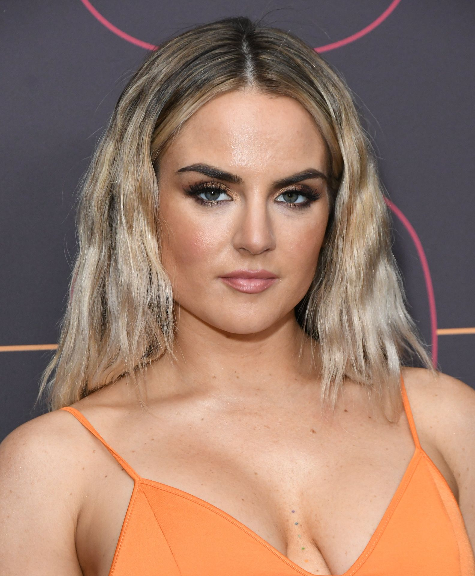 Jojo Shows Off Her Tits At The Warner Music Group Pre Grammy Party In Hollywood 0033
