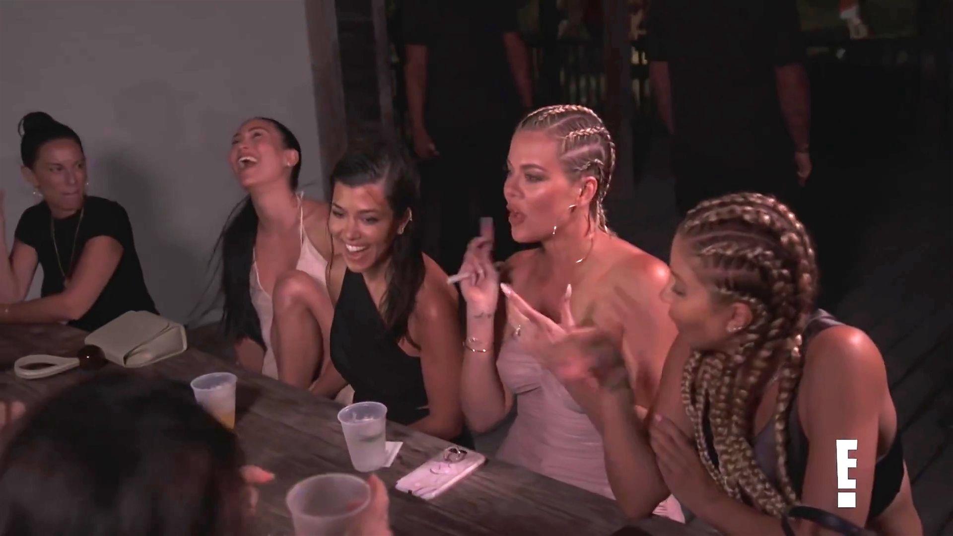 Khloé Kardashian Gets A Little Cold Without A Bra 0006