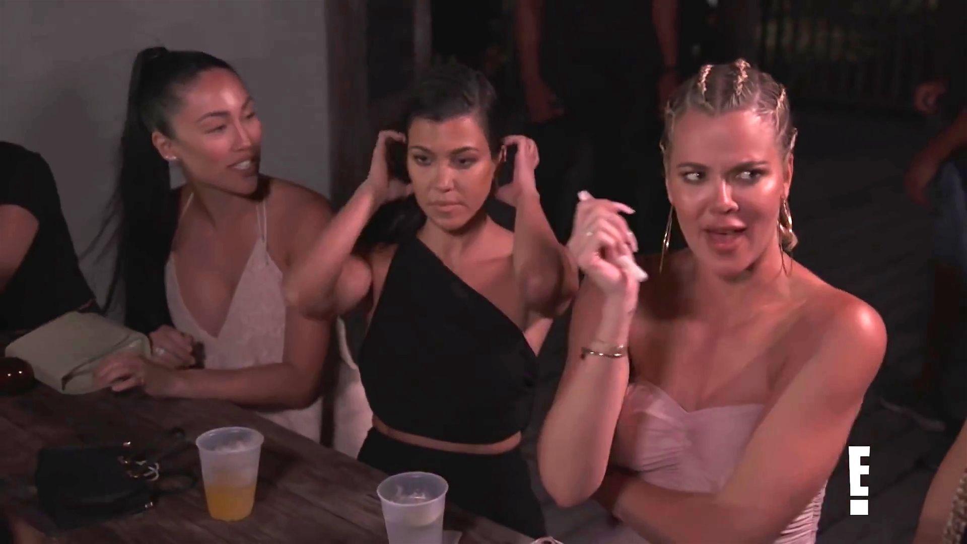 Khloé Kardashian Gets A Little Cold Without A Bra 0008