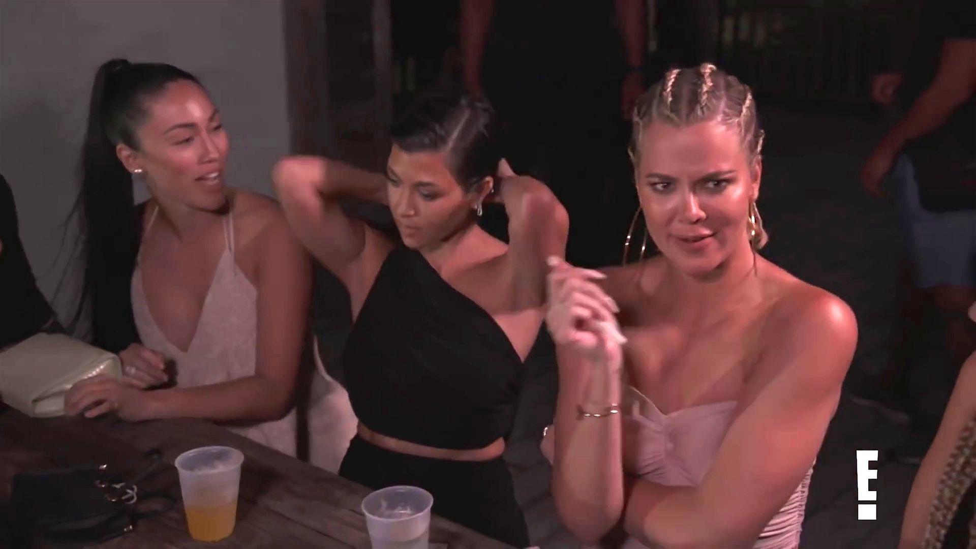 Khloé Kardashian Gets A Little Cold Without A Bra 0009