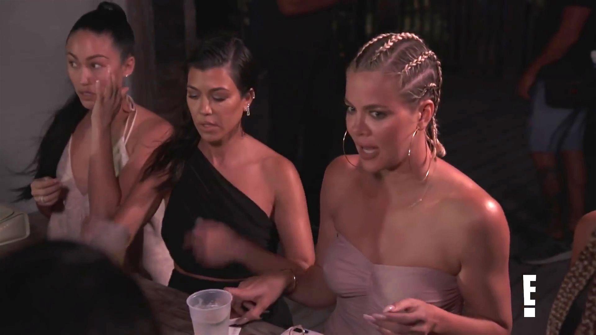 Khloé Kardashian Gets A Little Cold Without A Bra 0023