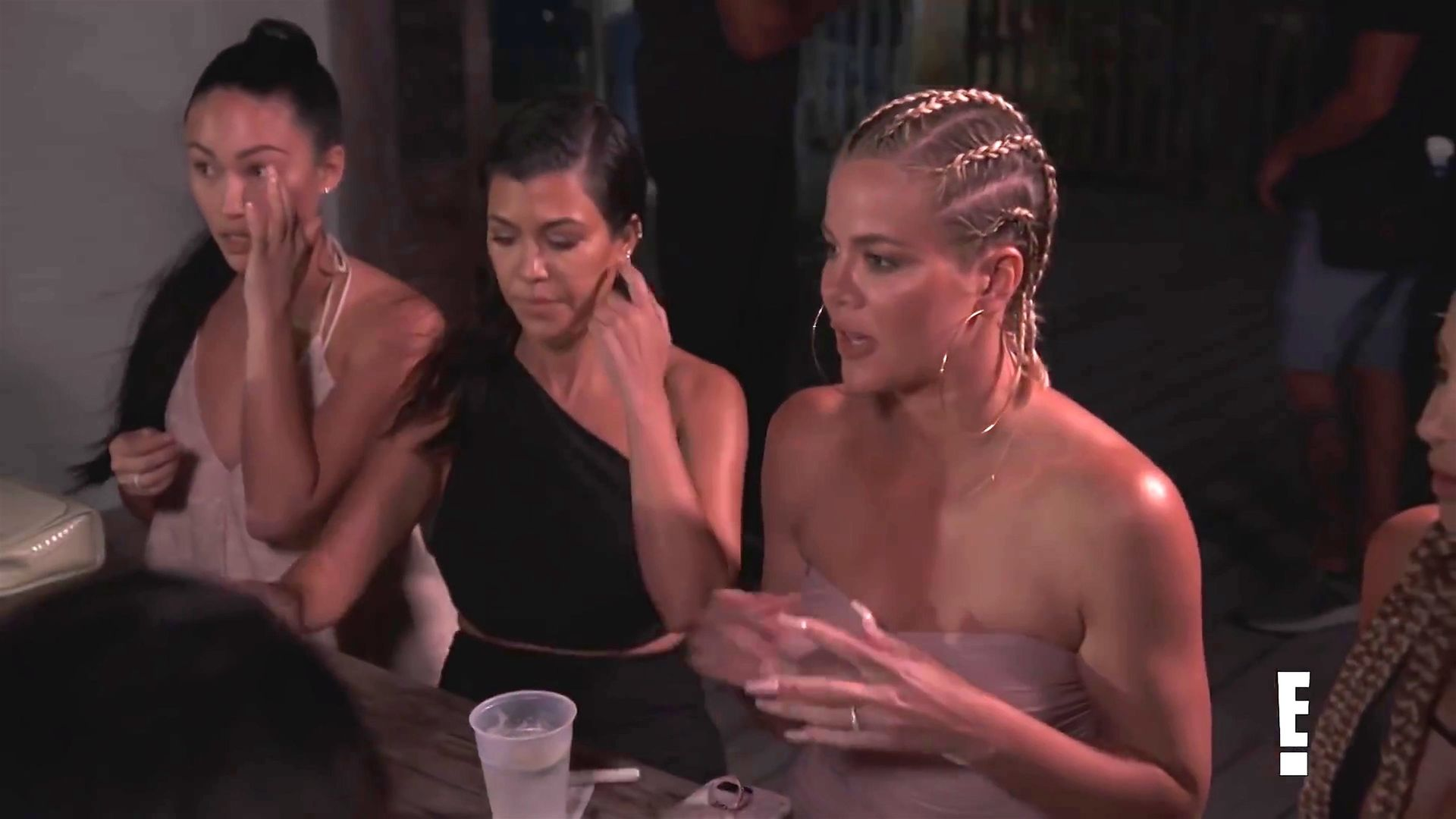 Khloé Kardashian Gets A Little Cold Without A Bra 0024