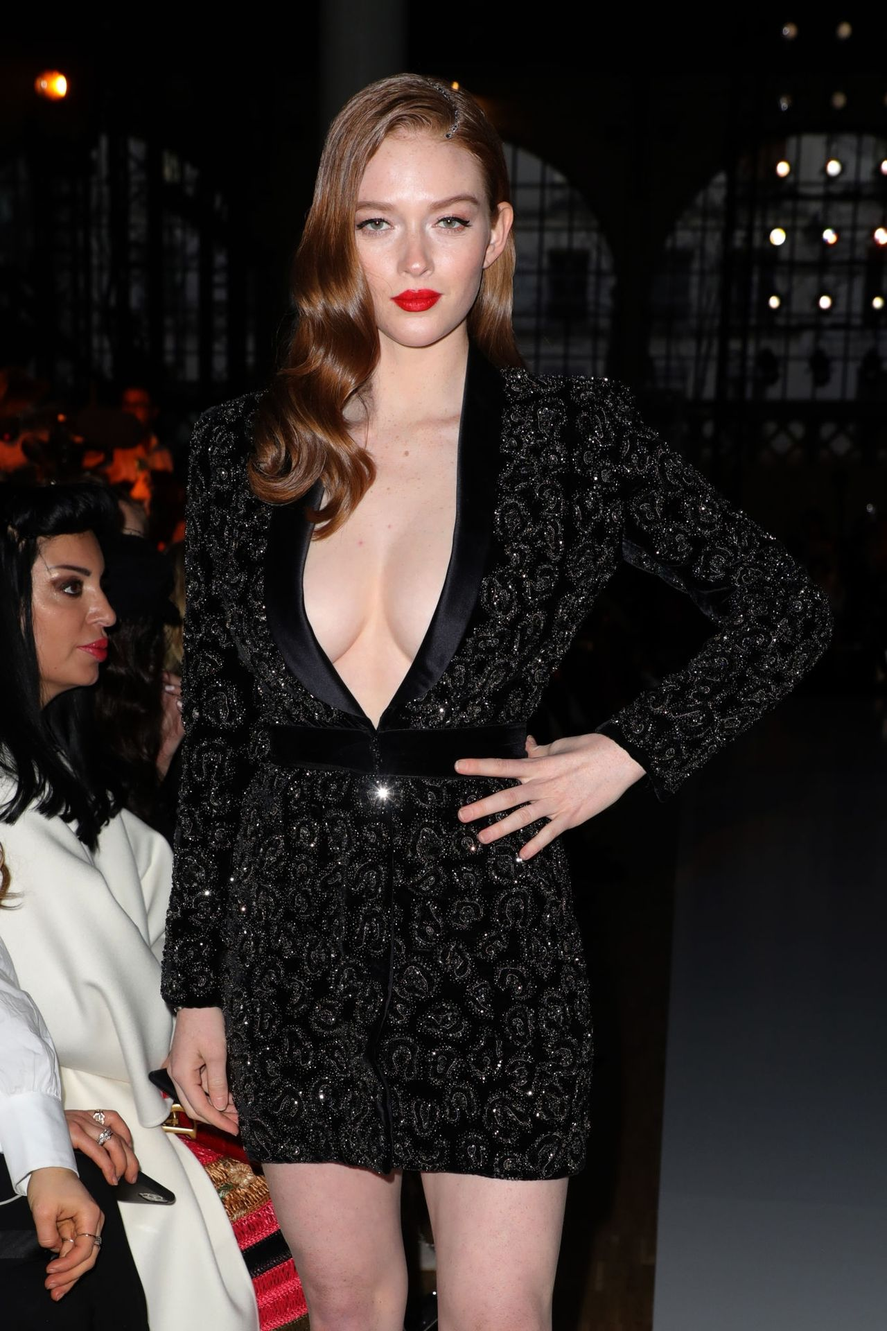 Larsen Thompson Wows With Her Tits At The Fashion Show 0008