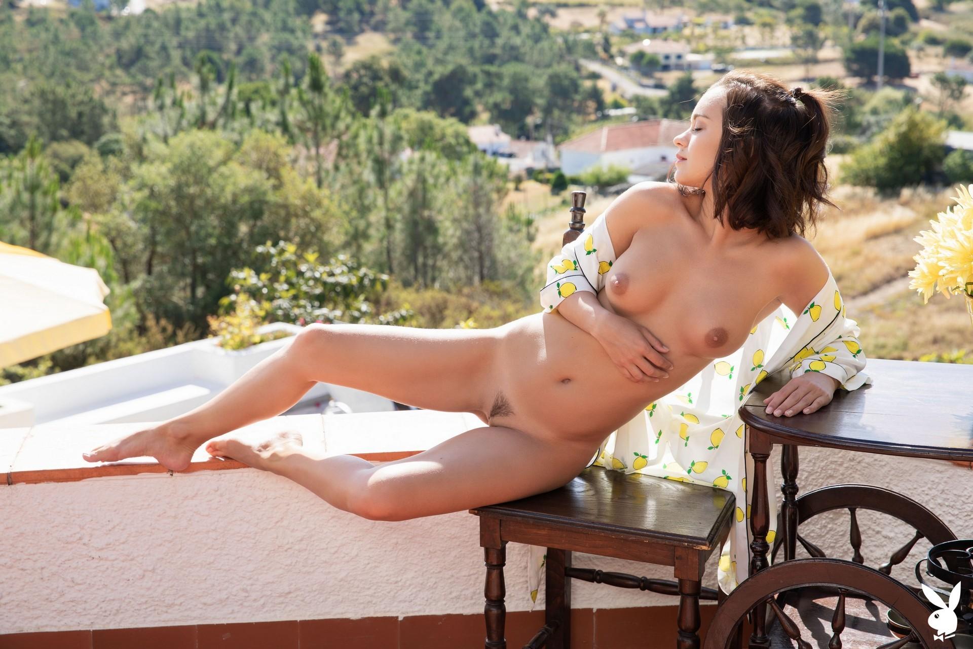 Marine Lecourt In Country Summit Playboy Plus (13)