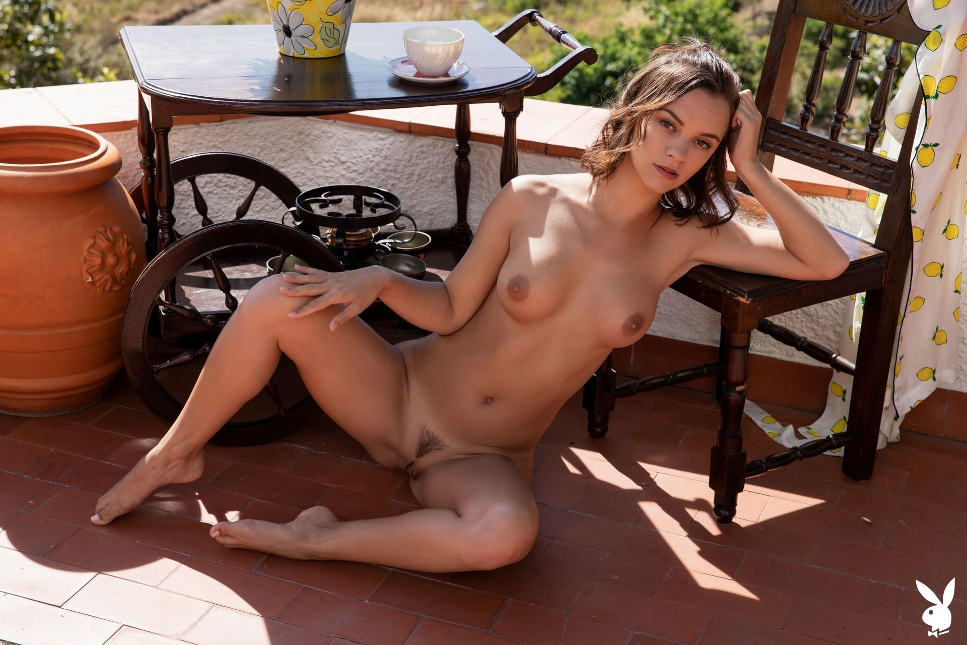 Marine Lecourt In Country Summit Playboy Plus (15)