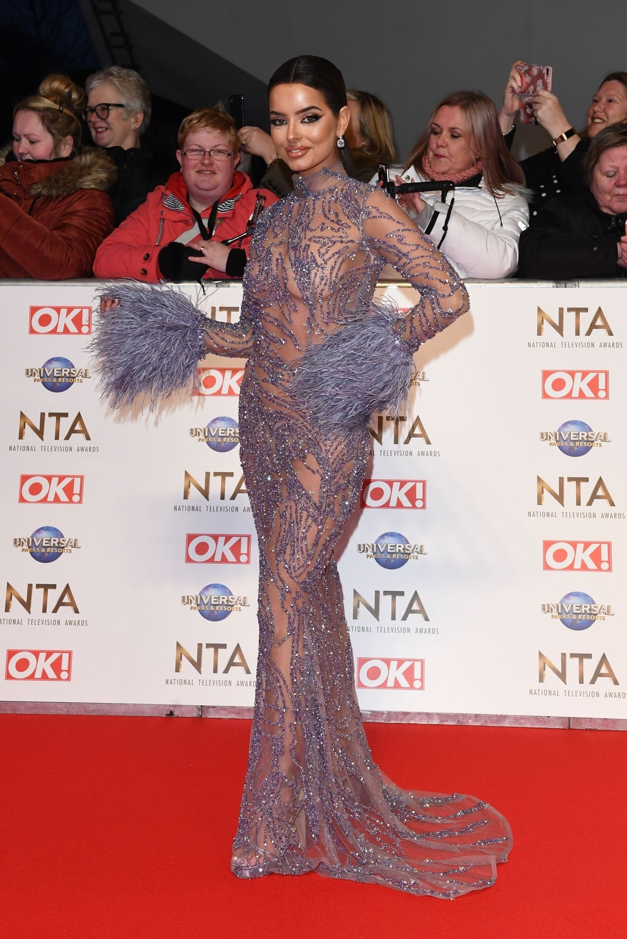 Maura Higgins Looks Hot At The National Television Awards 0001