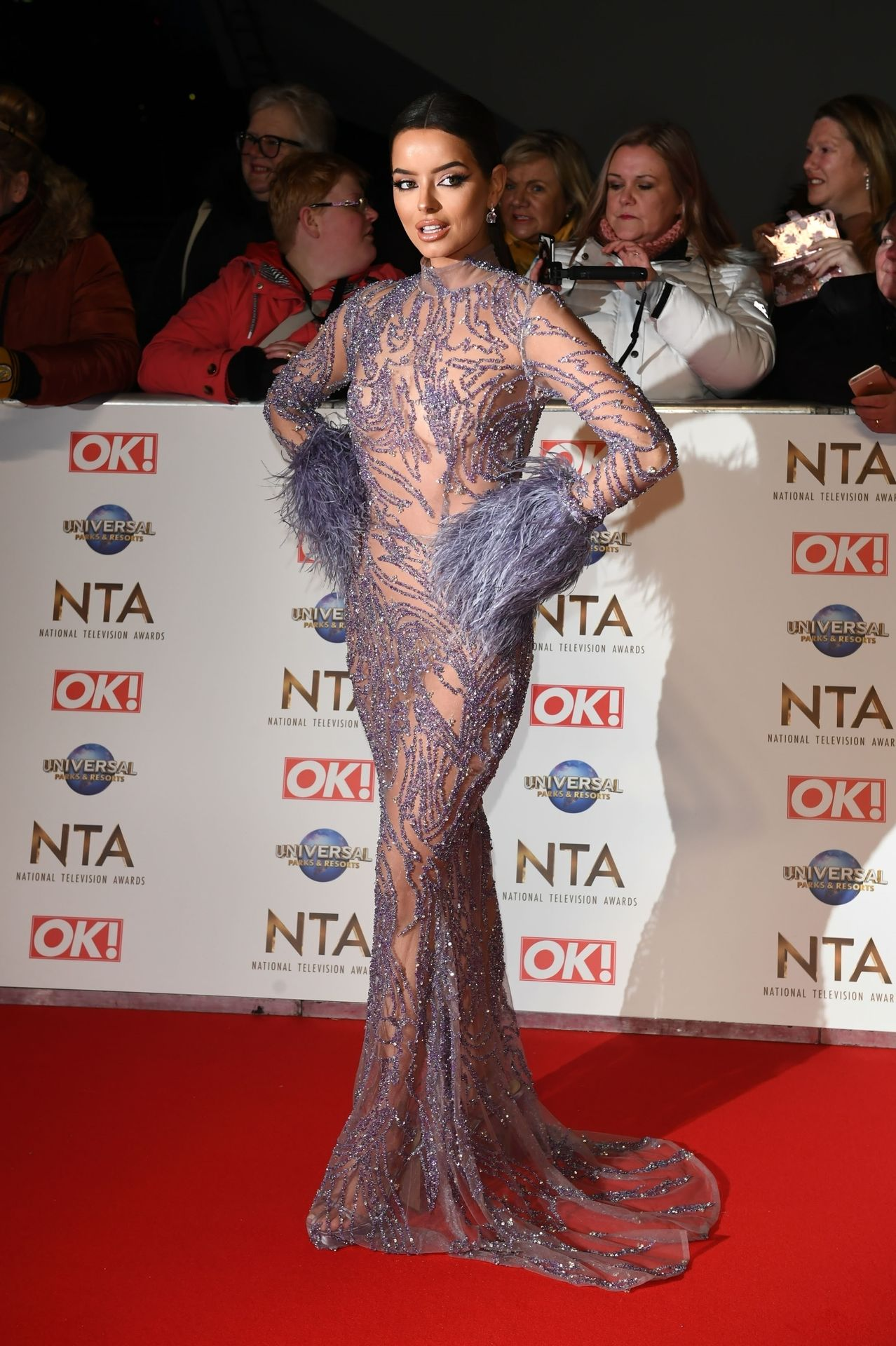 Maura Higgins Looks Hot At The National Television Awards 0002