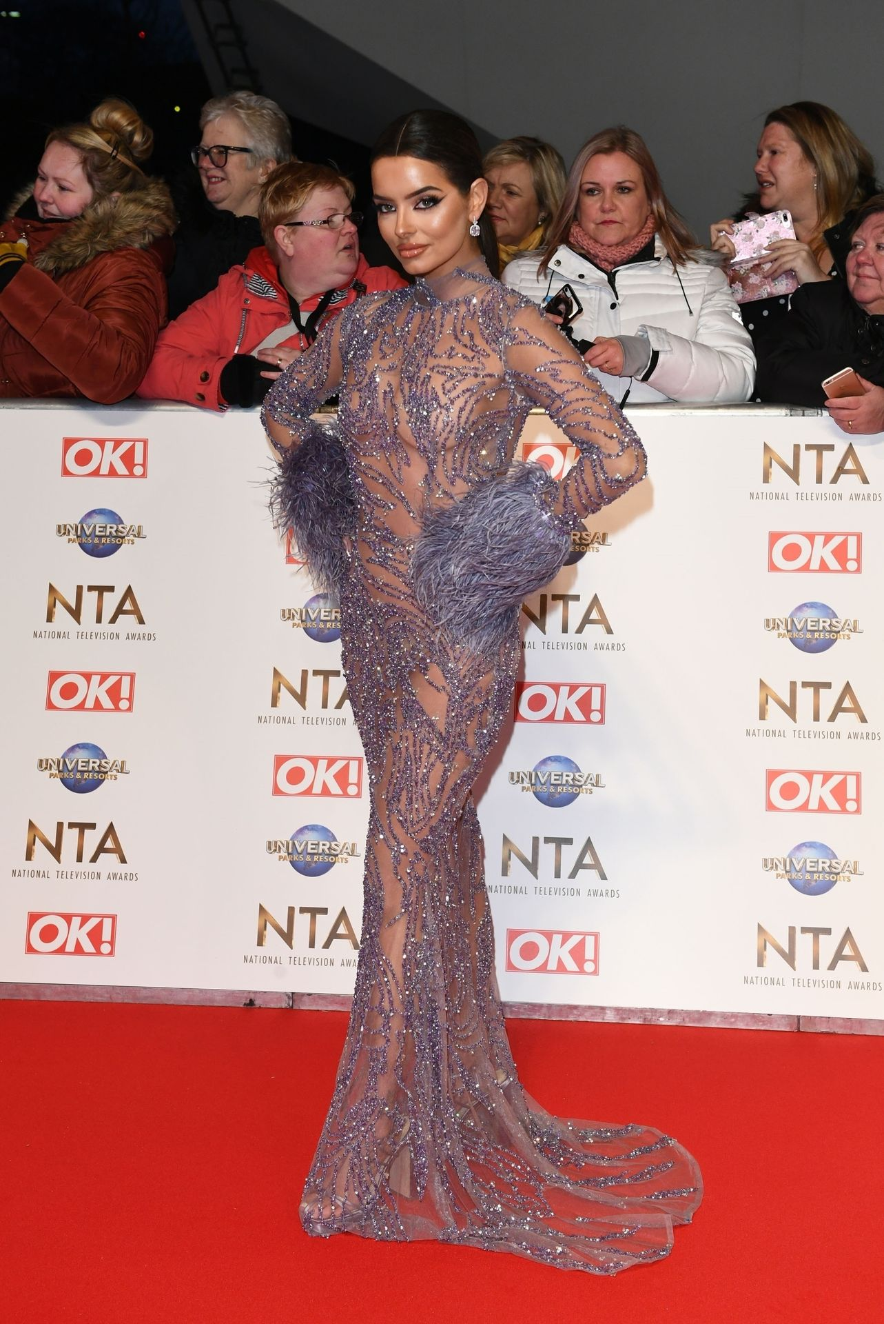 Maura Higgins Looks Hot At The National Television Awards 0003