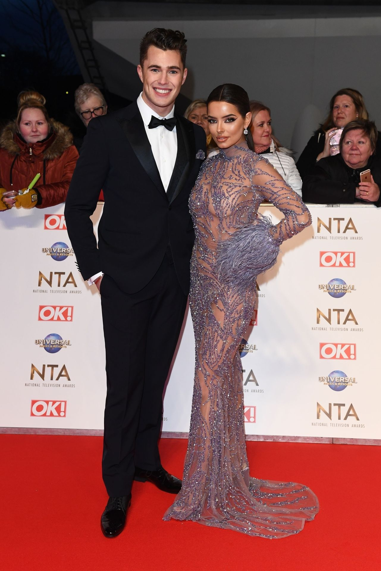 Maura Higgins Looks Hot At The National Television Awards 0004