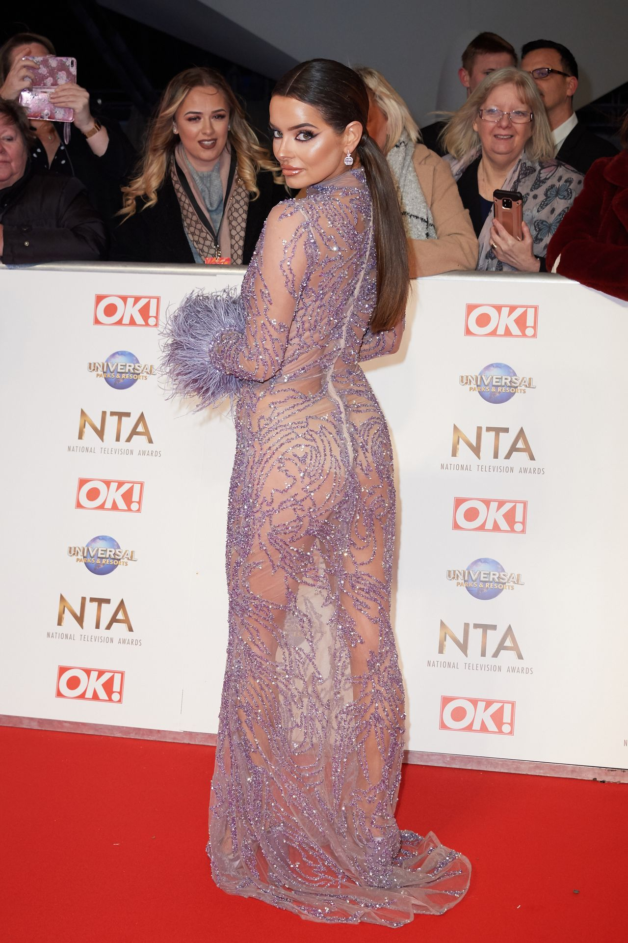 Maura Higgins Looks Hot At The National Television Awards 0005